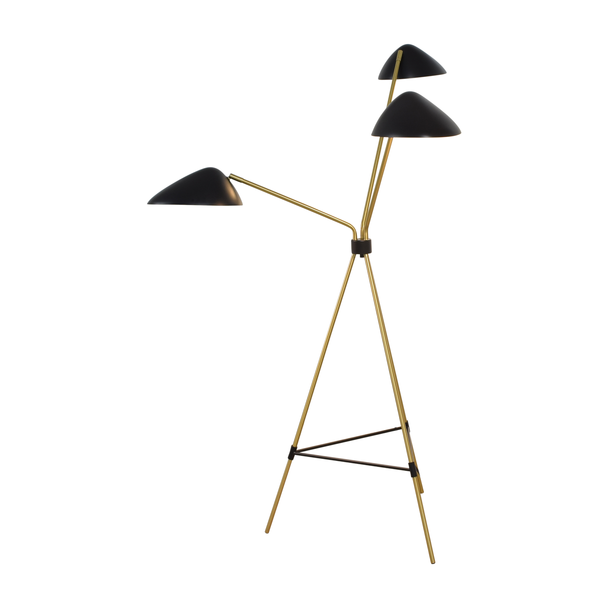 shop West Elm West Elm Curvilinear Mid-Century Floor Lamp online