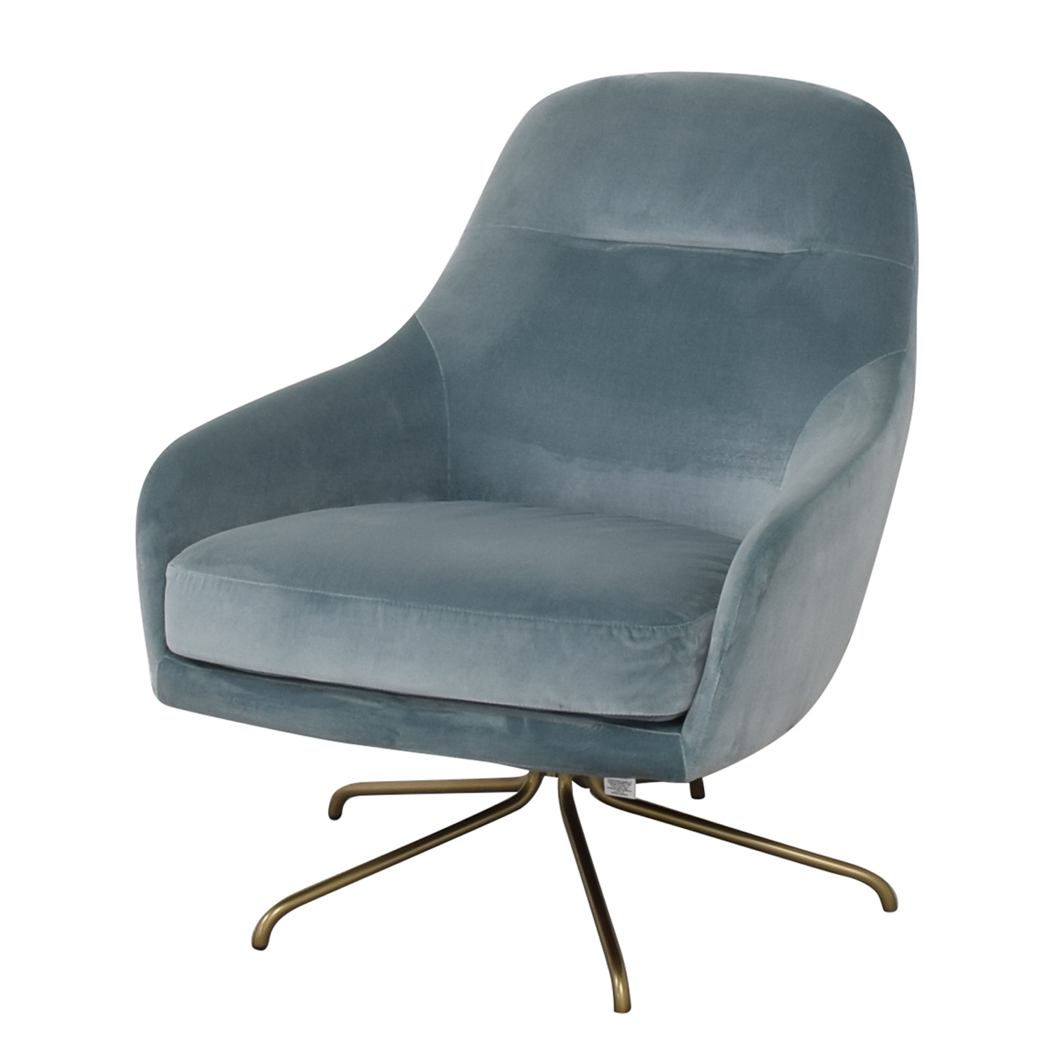 West Elm West Elm Valentina Swivel Chair on sale
