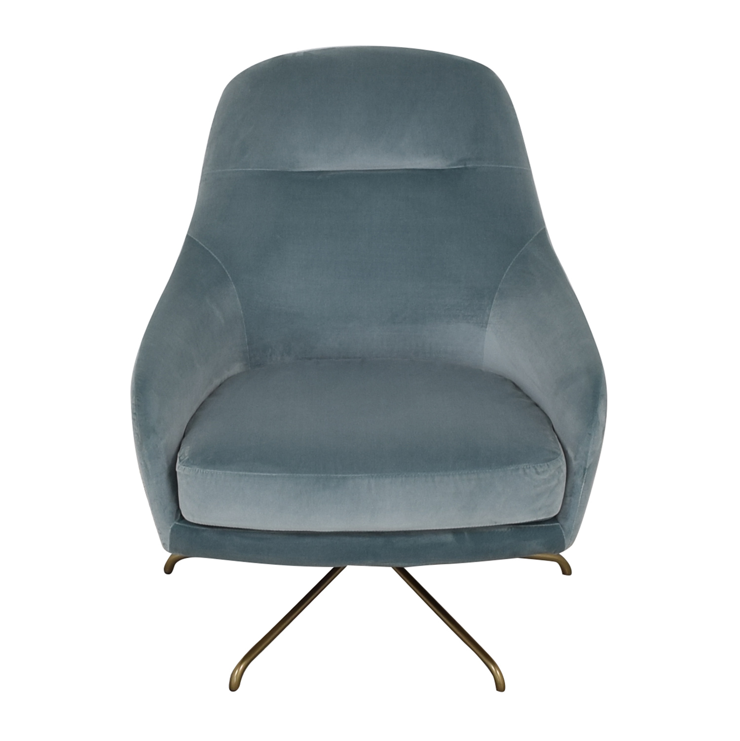 West Elm West Elm Valentina Swivel Chair used