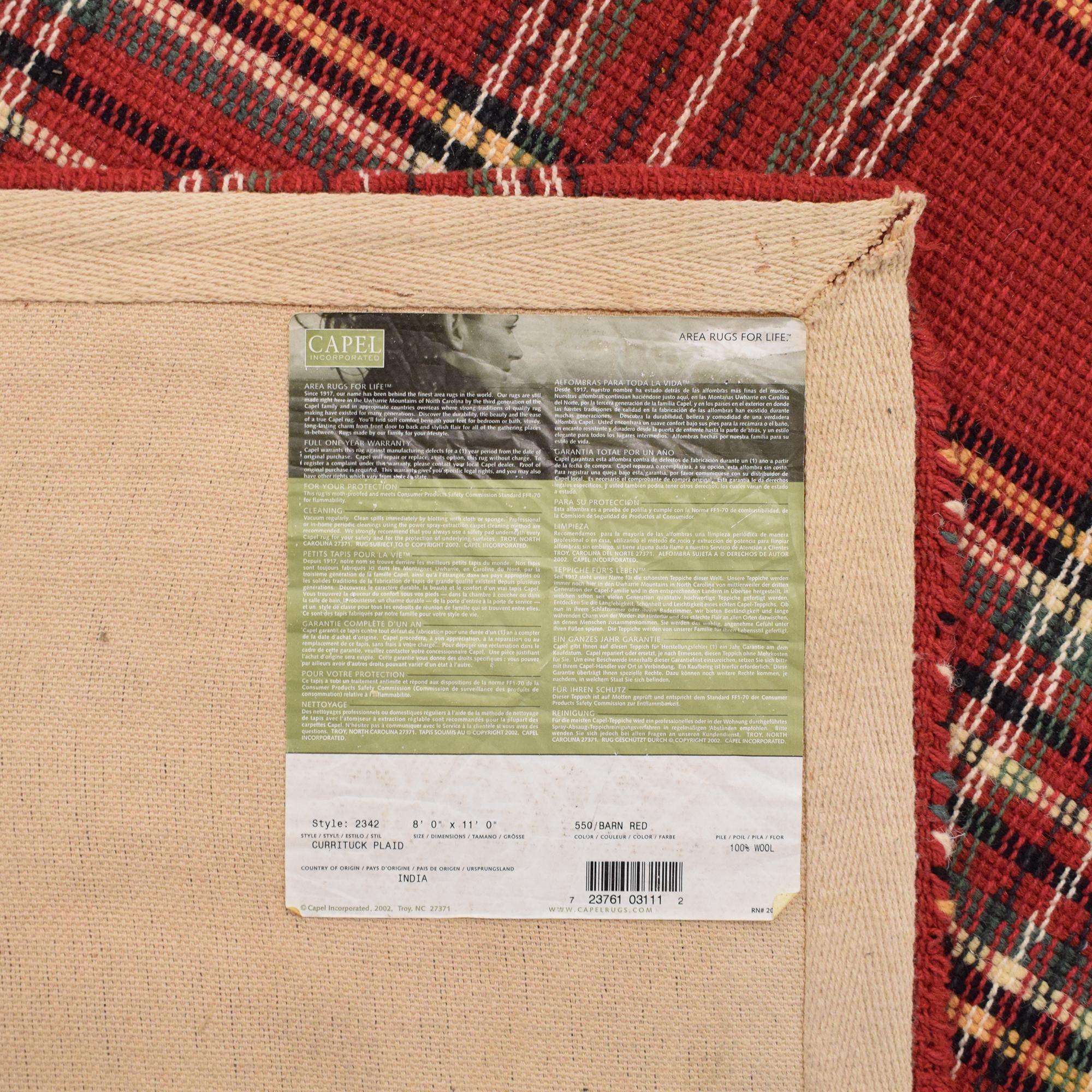 buy Capel Currituck Plaid Rug Capel Rugs Decor