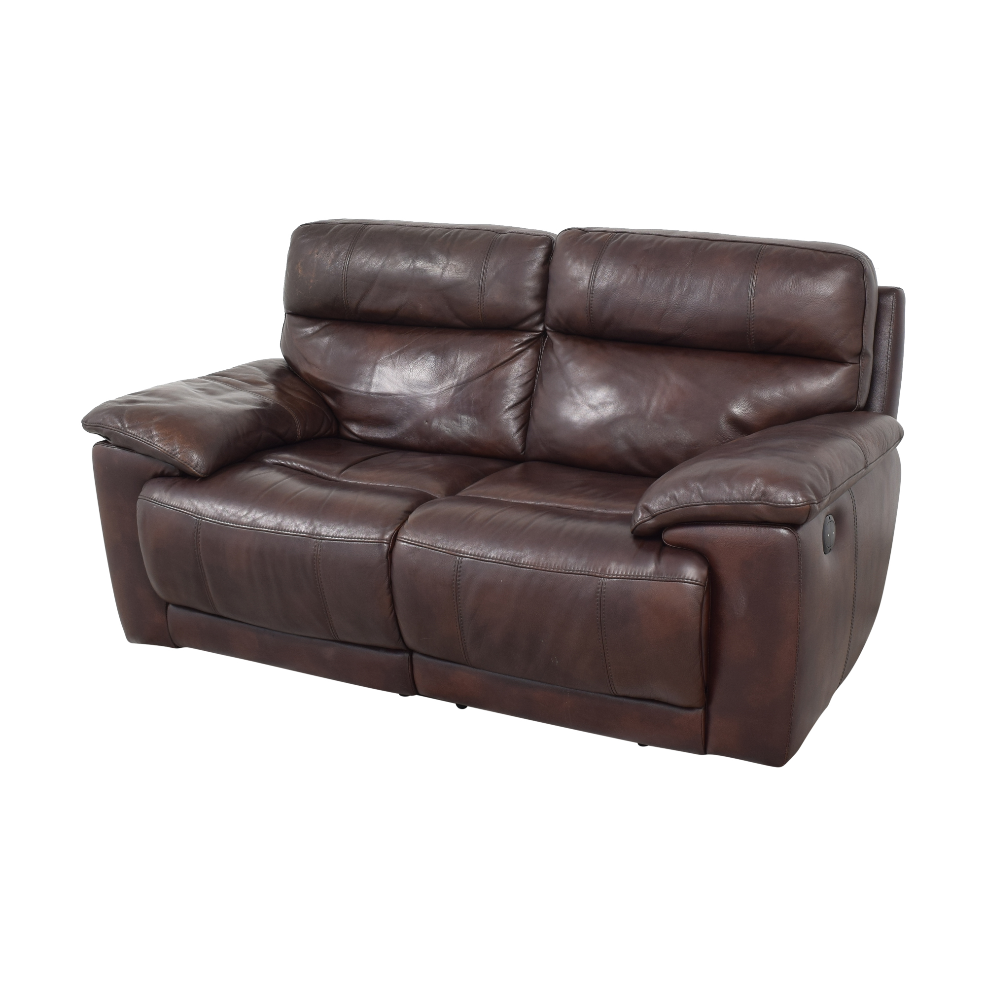 Raymour & Flanigan Raymour & Flanigan Reclining Loveseat on sale