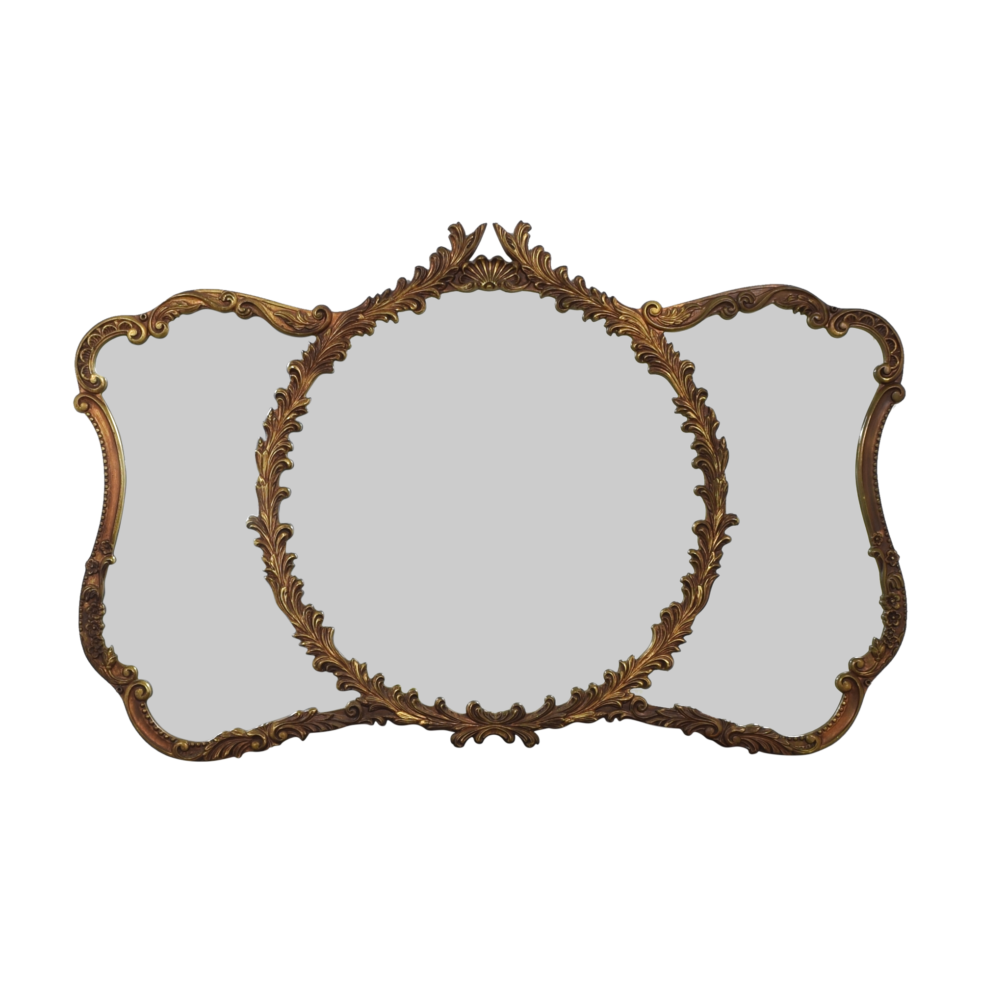 Union City Mirror & Table Co. Carved Wall Mirror / Decor