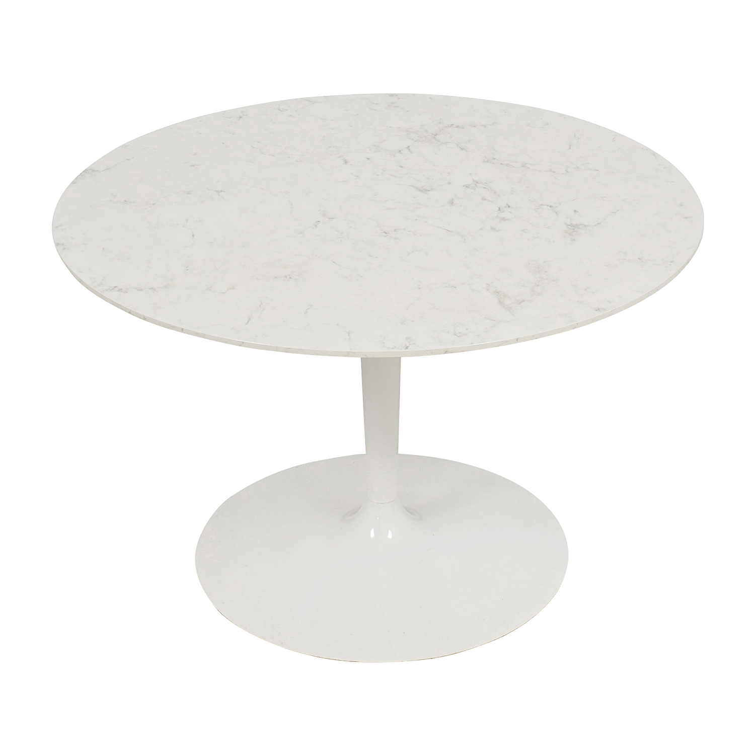 buy Lippa 48 Inch Artificial Marbel Dining Table Lippa