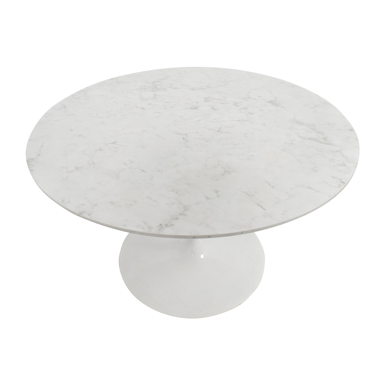 Lippa Lippa 48 Inch Artificial Marbel Dining Table price