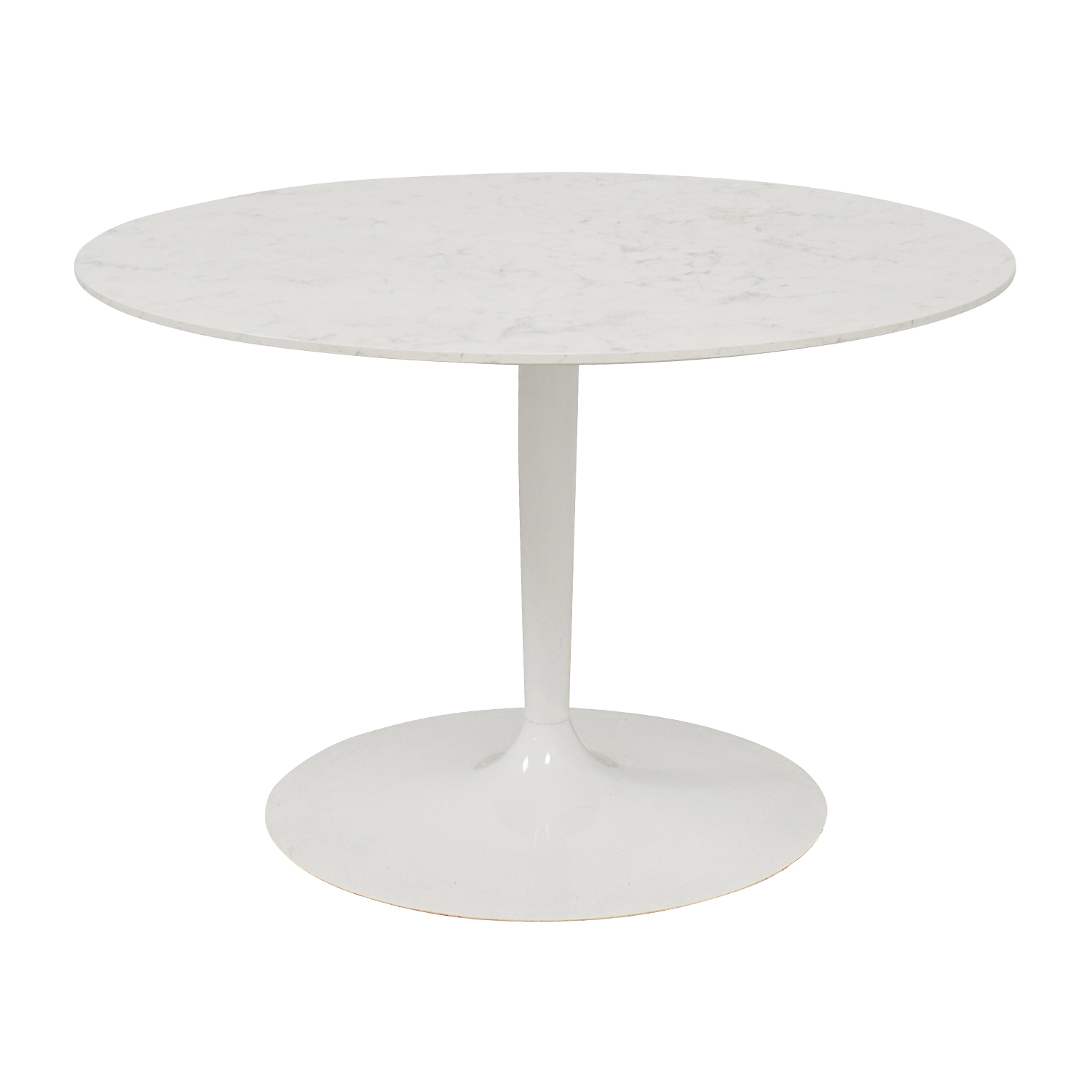 Lippa Lippa 48 Inch Artificial Marbel Dining Table discount