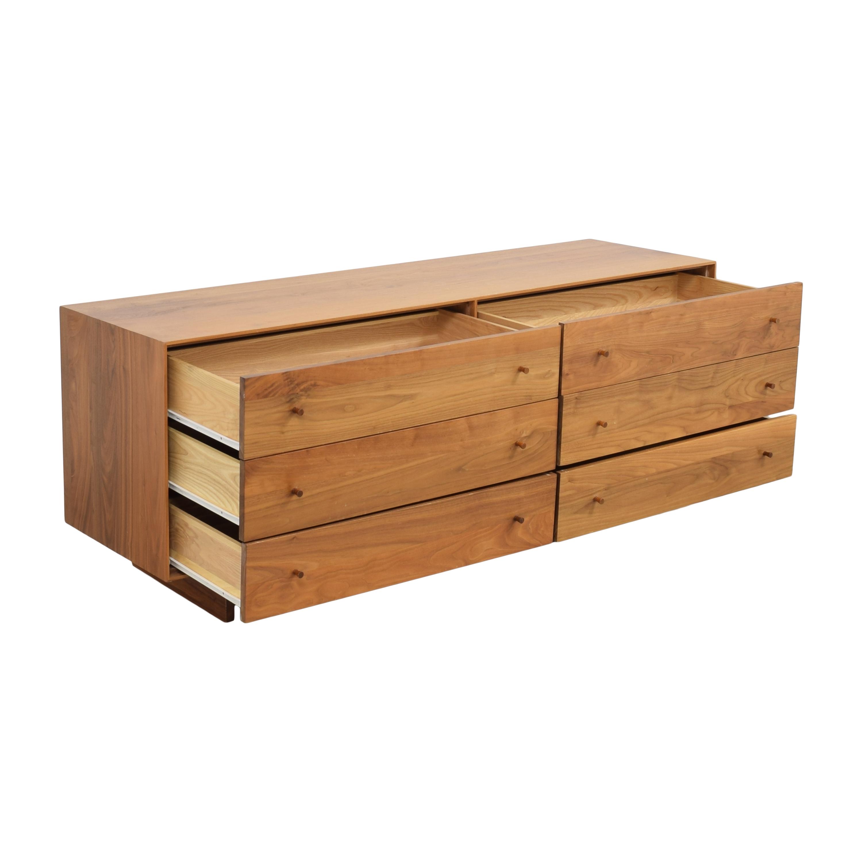 buy Room & Board Hudson Six Drawer Dresser Room & Board Dressers
