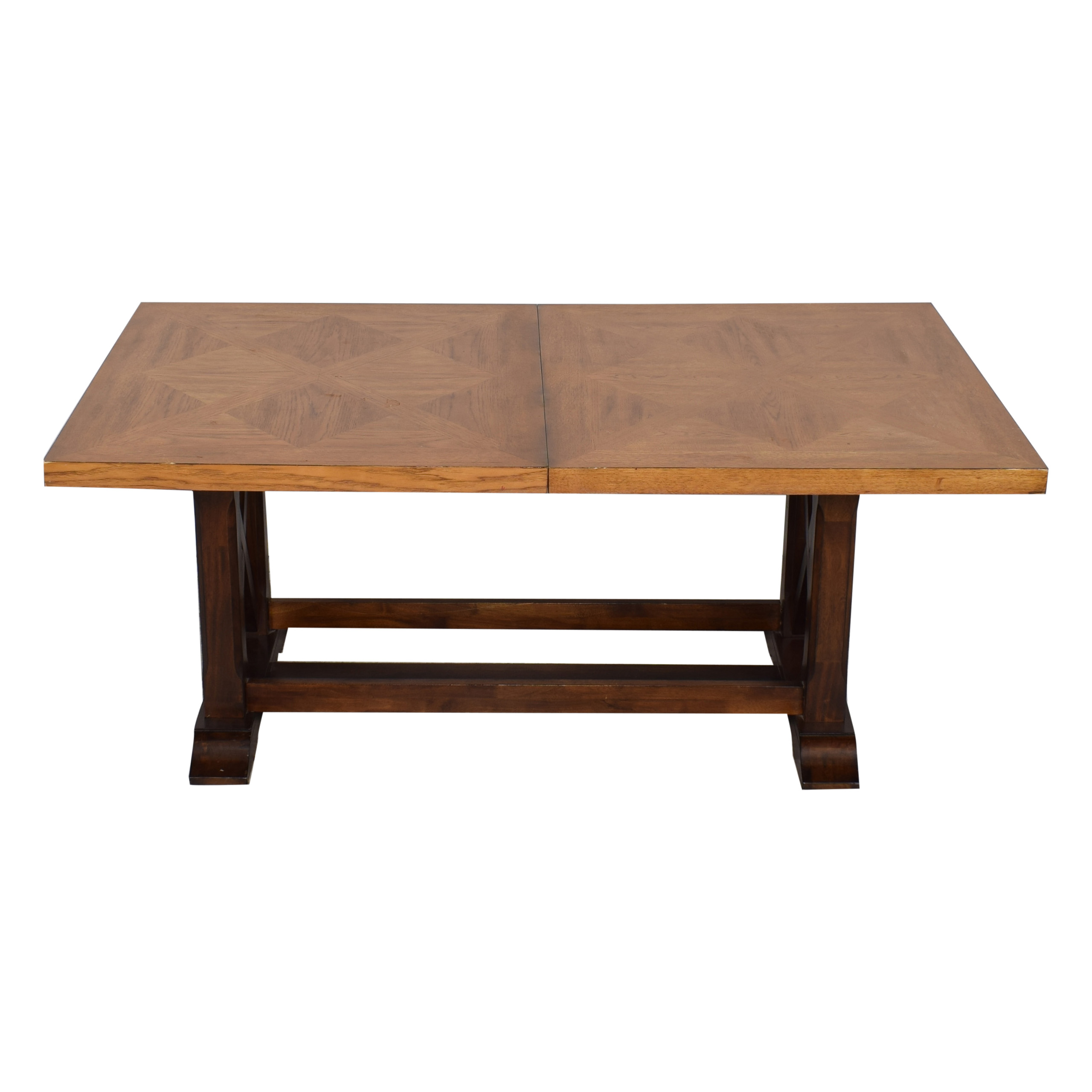 Klaussner Klaussner Dayton Extended Dining Table brown