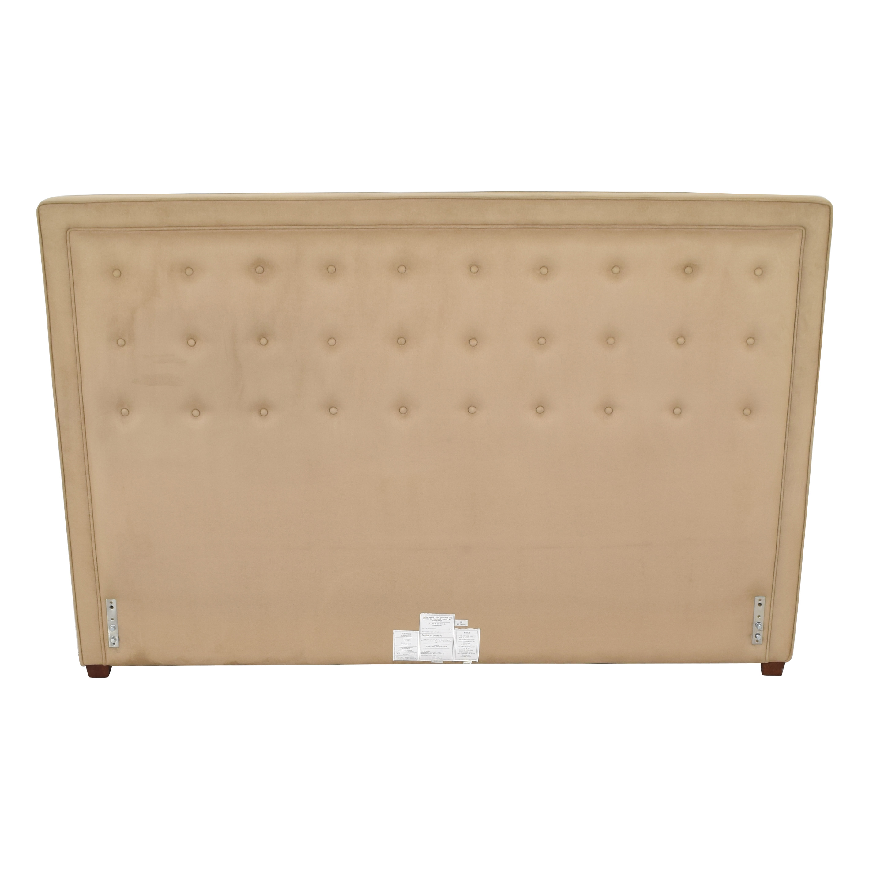 buy Pottery Barn Georgetown Tufted Headboard Pottery Barn Headboards