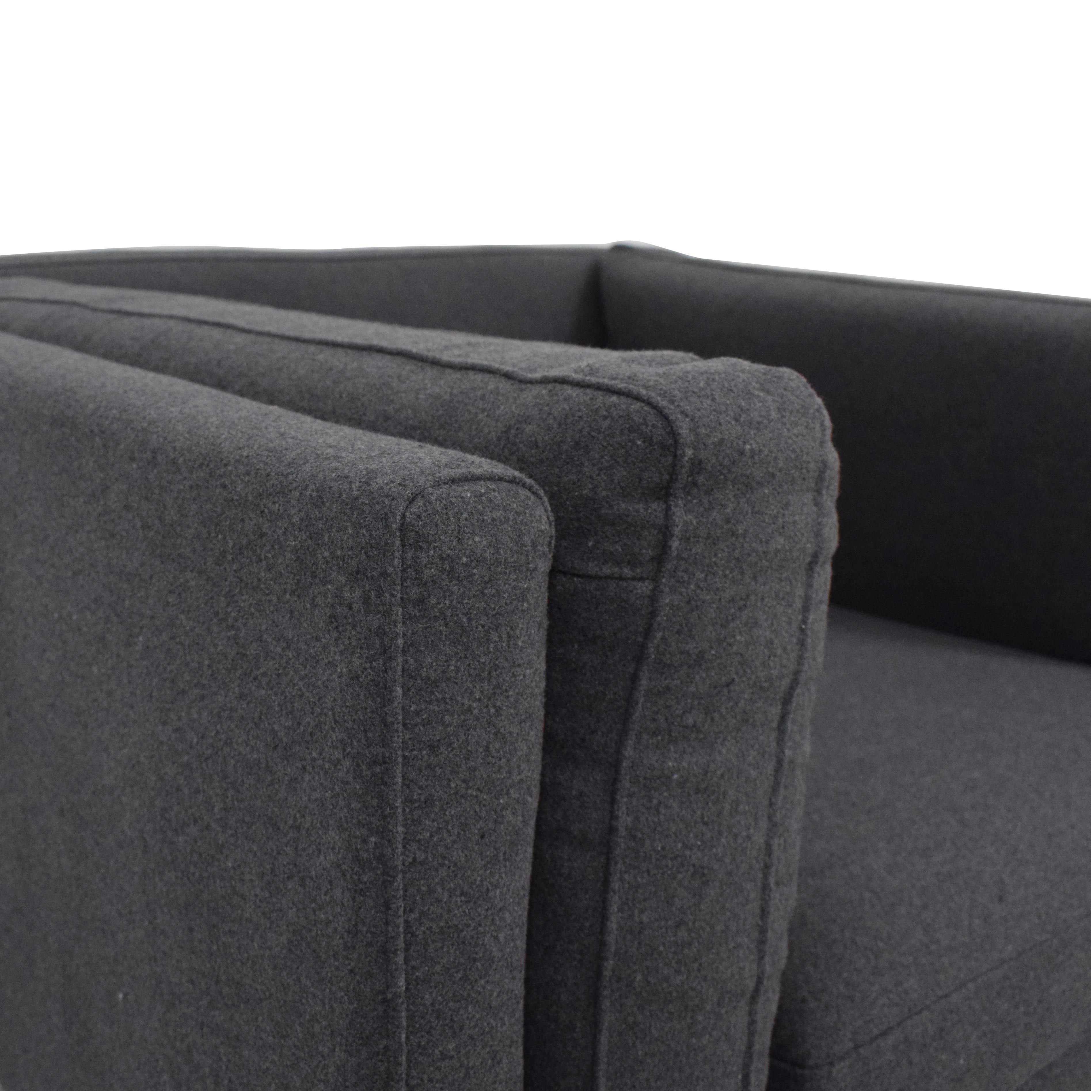 Kardiel Kardiel Basil Loft Chair grey