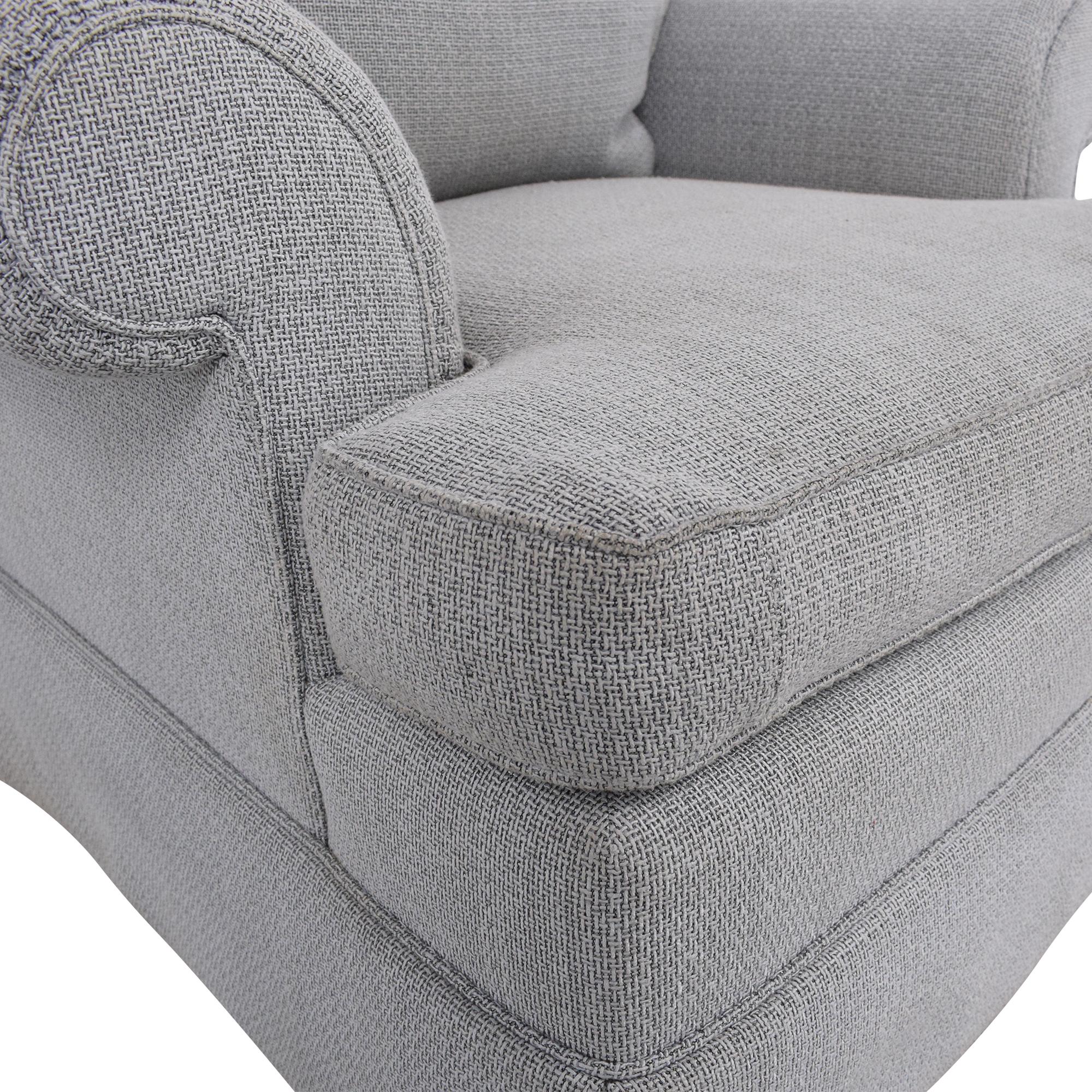 Custom Slipcovered Armchair used