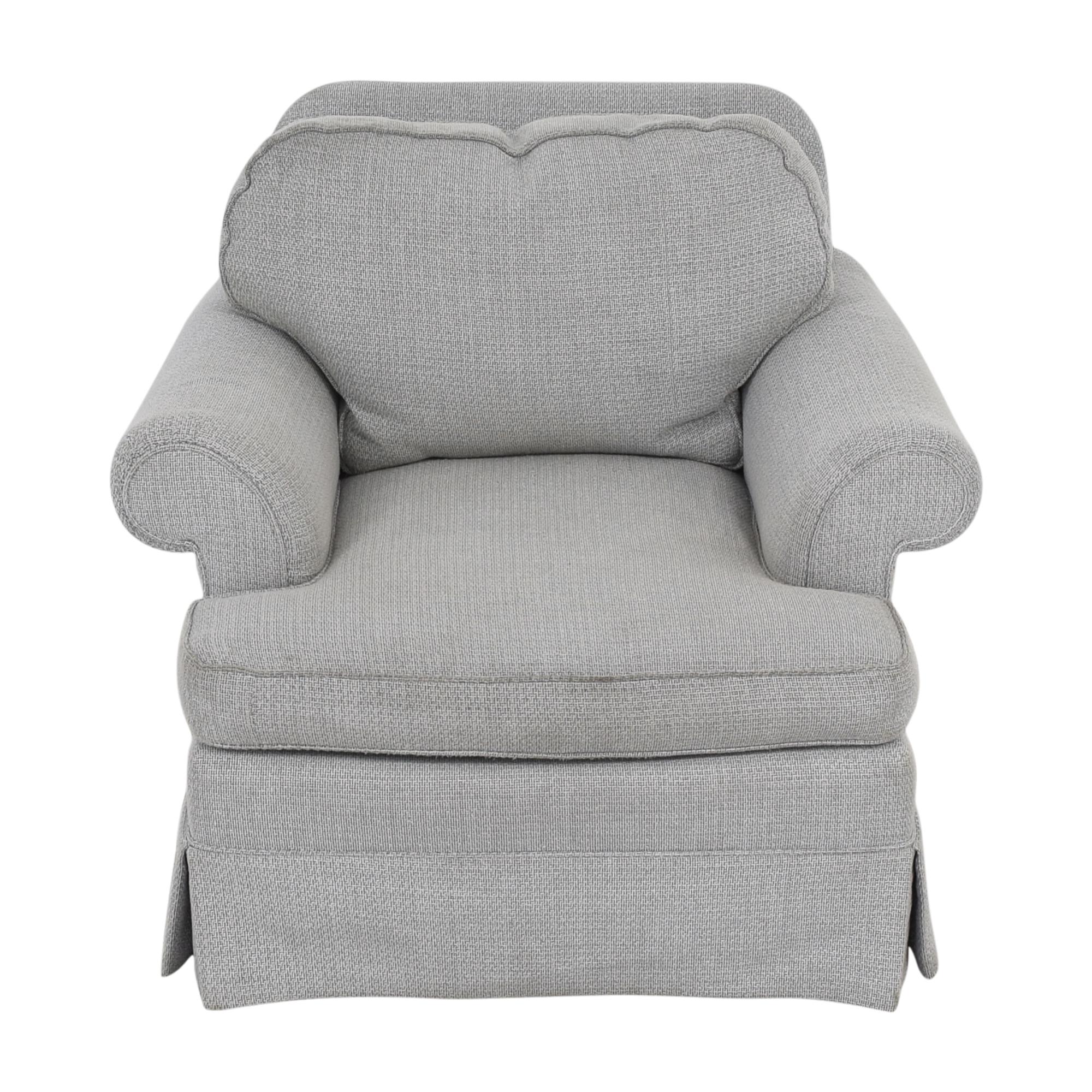 Custom Slipcovered Armchair second hand