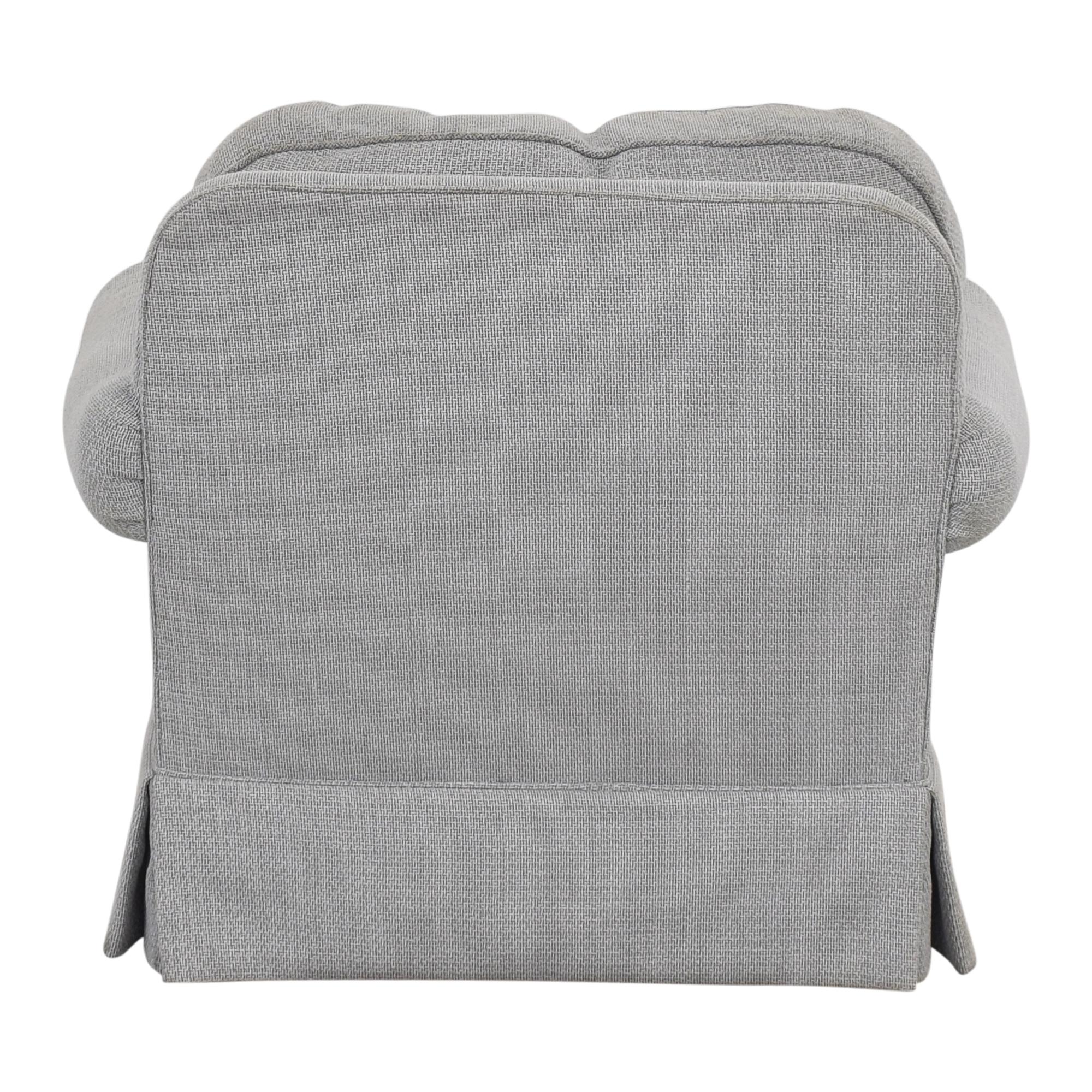 Custom Slipcovered Armchair on sale