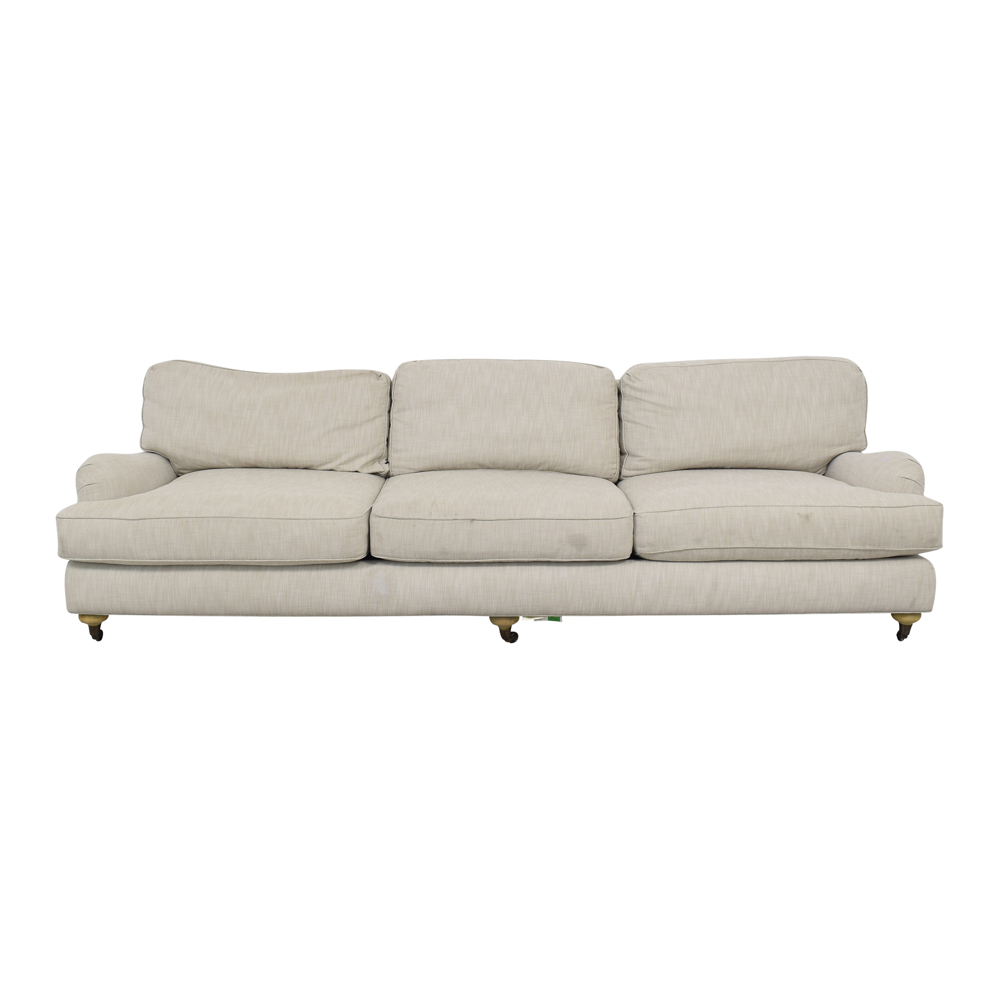 Restoration Hardware English Roll Arm Sofa Restoration Hardware