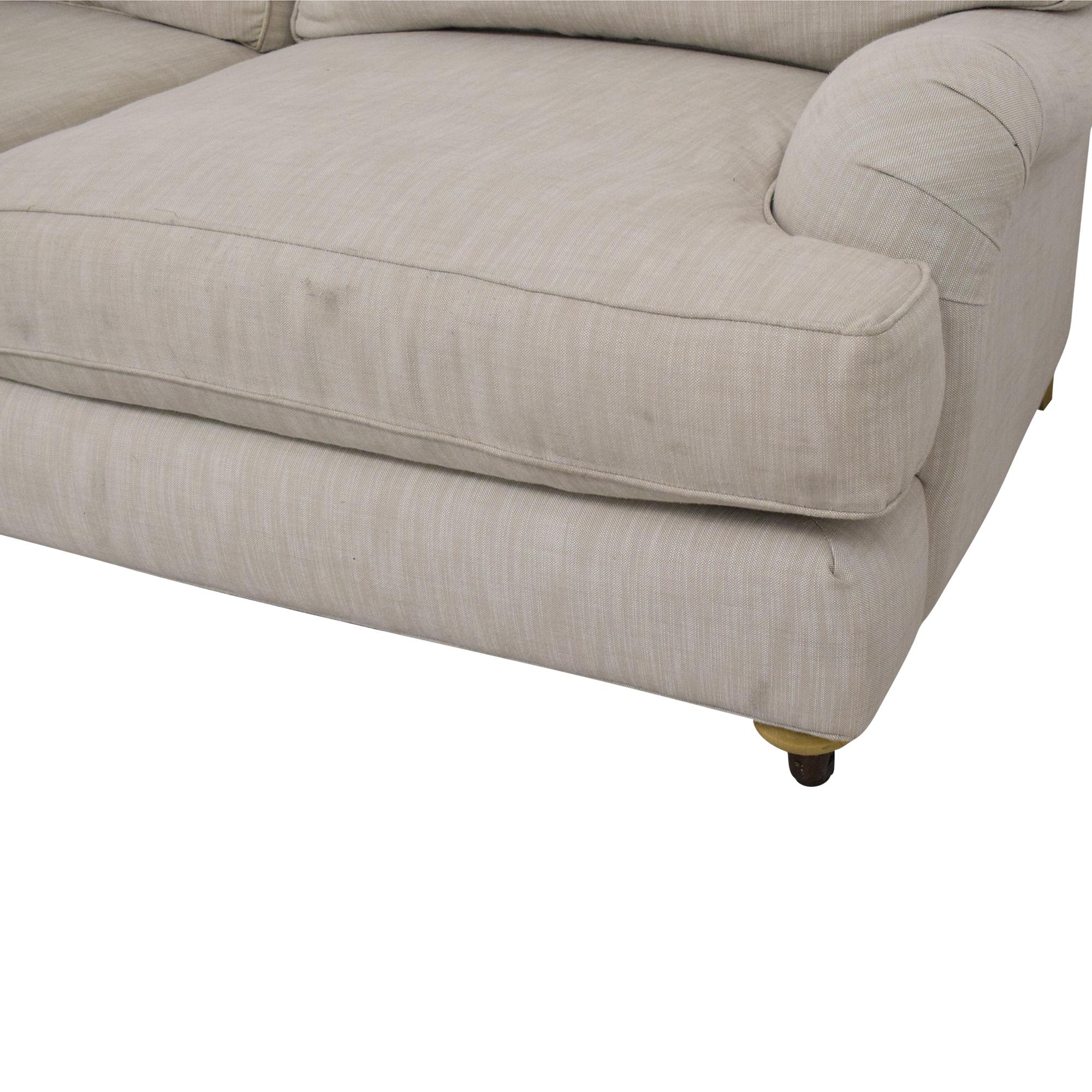 Restoration Hardware English Roll Arm Sofa / Sofas