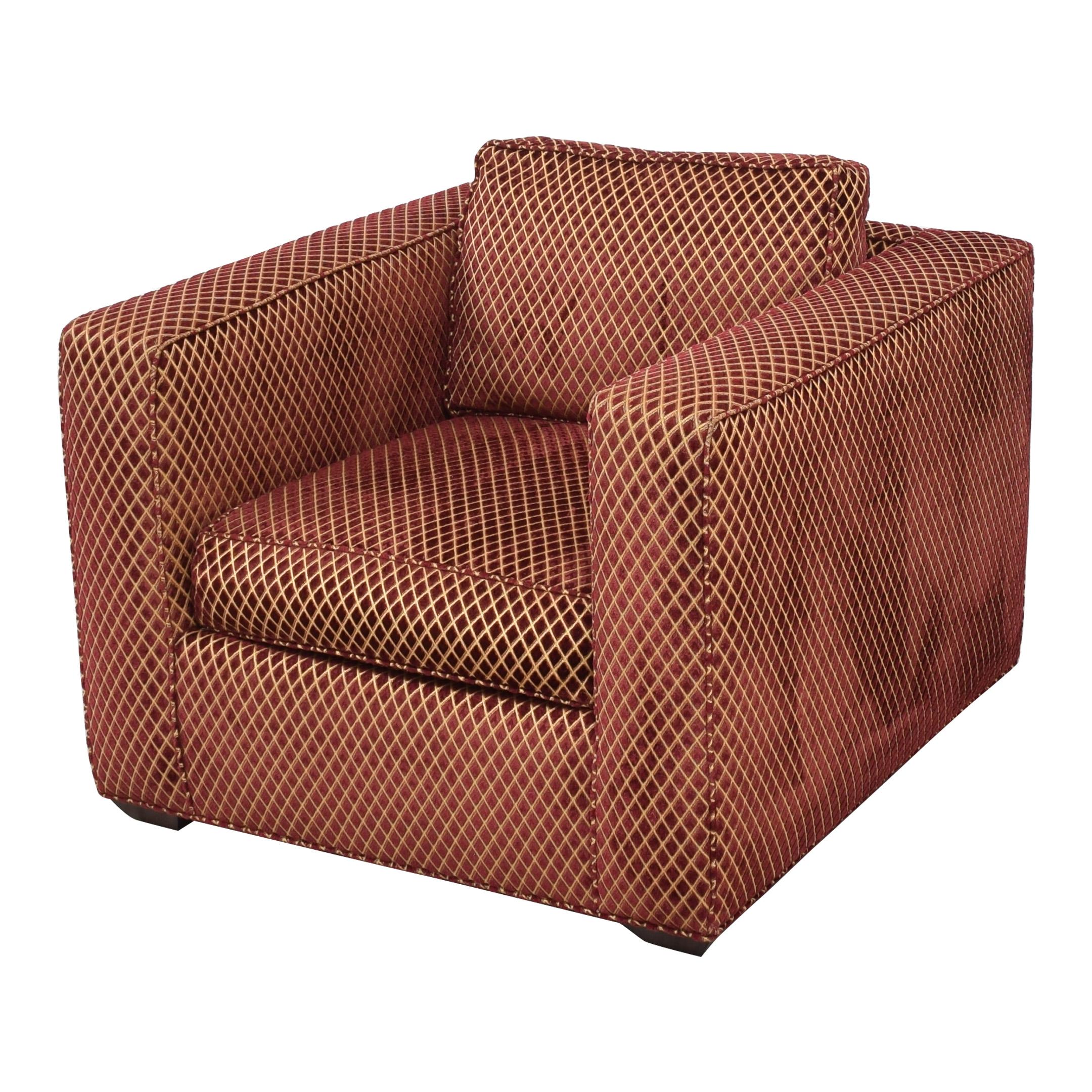 R.Jones R.Jones Club Lounge Chair red