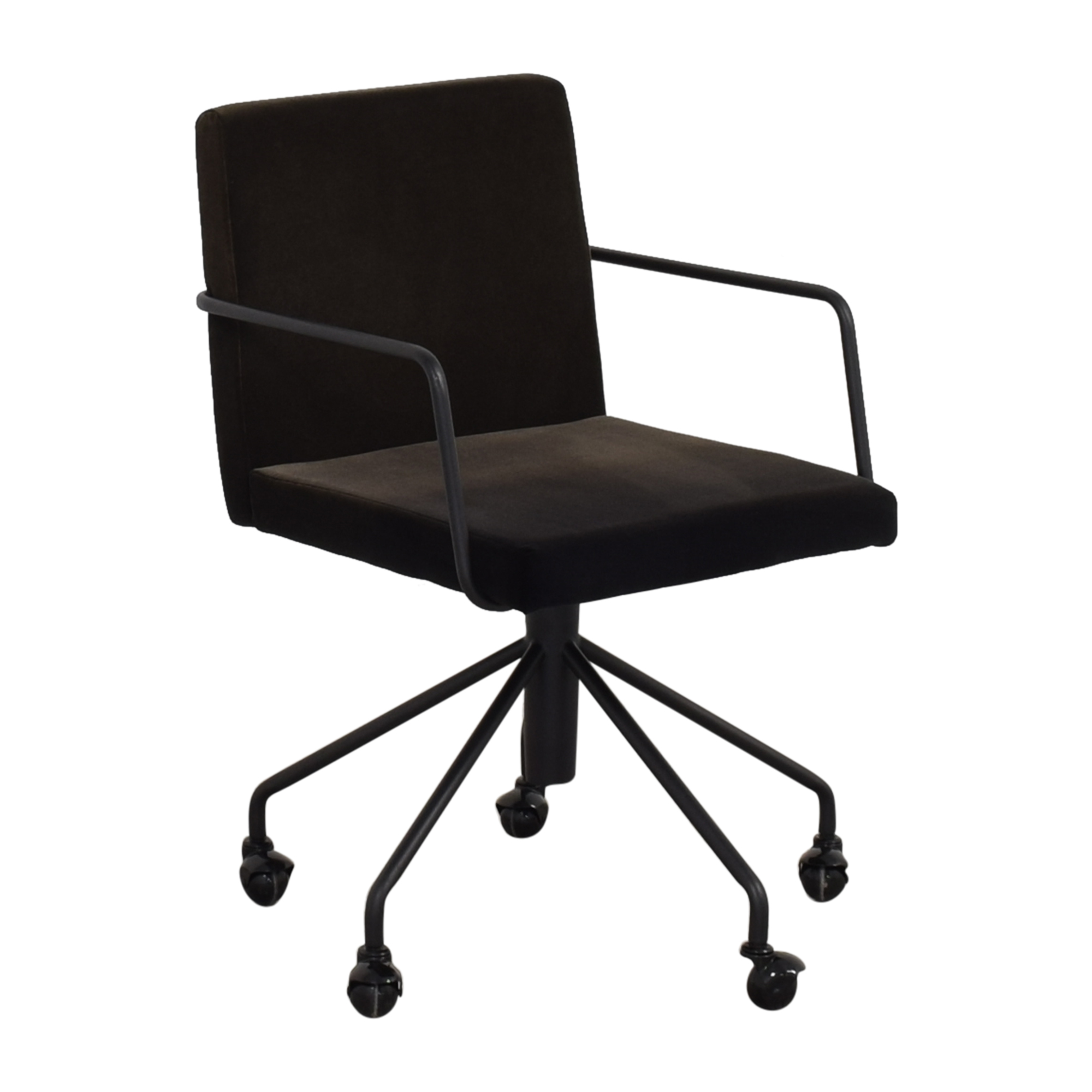 63 Off Cb2 Cb2 Rouka Home Office Chair Chairs