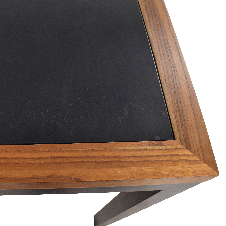 Maria Yee Maria Yee Tall Dining Table brown & black