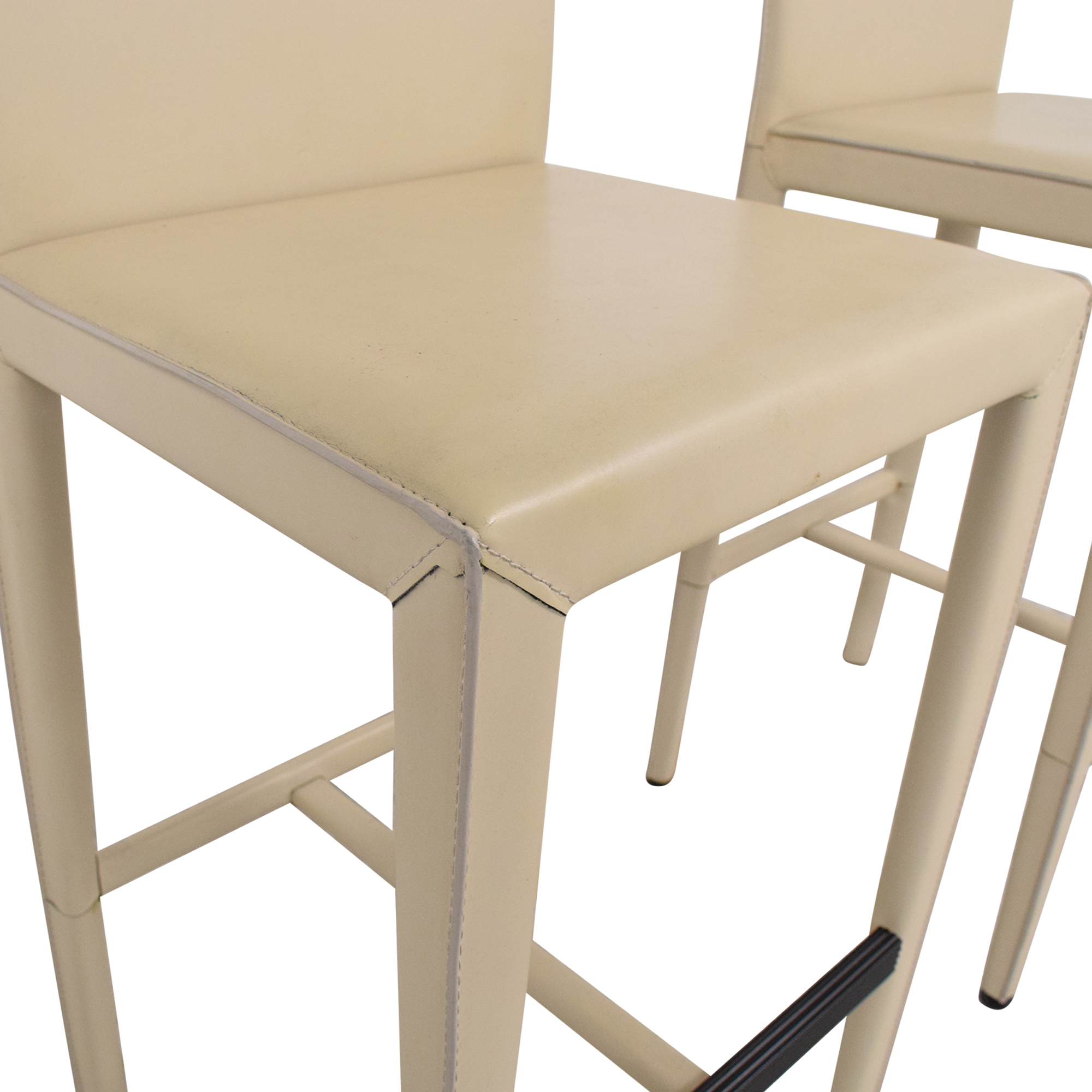 Room & Board Sava Leather Bar Stools / Stools