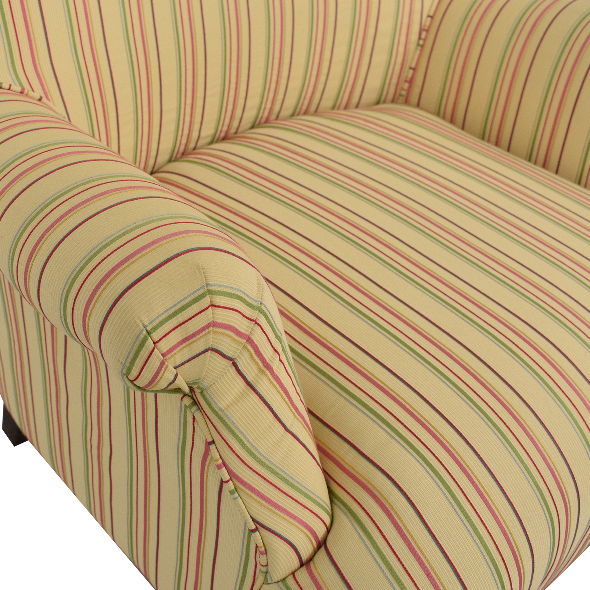 Domain Home Domain Home Striped Accent Chair dimensions