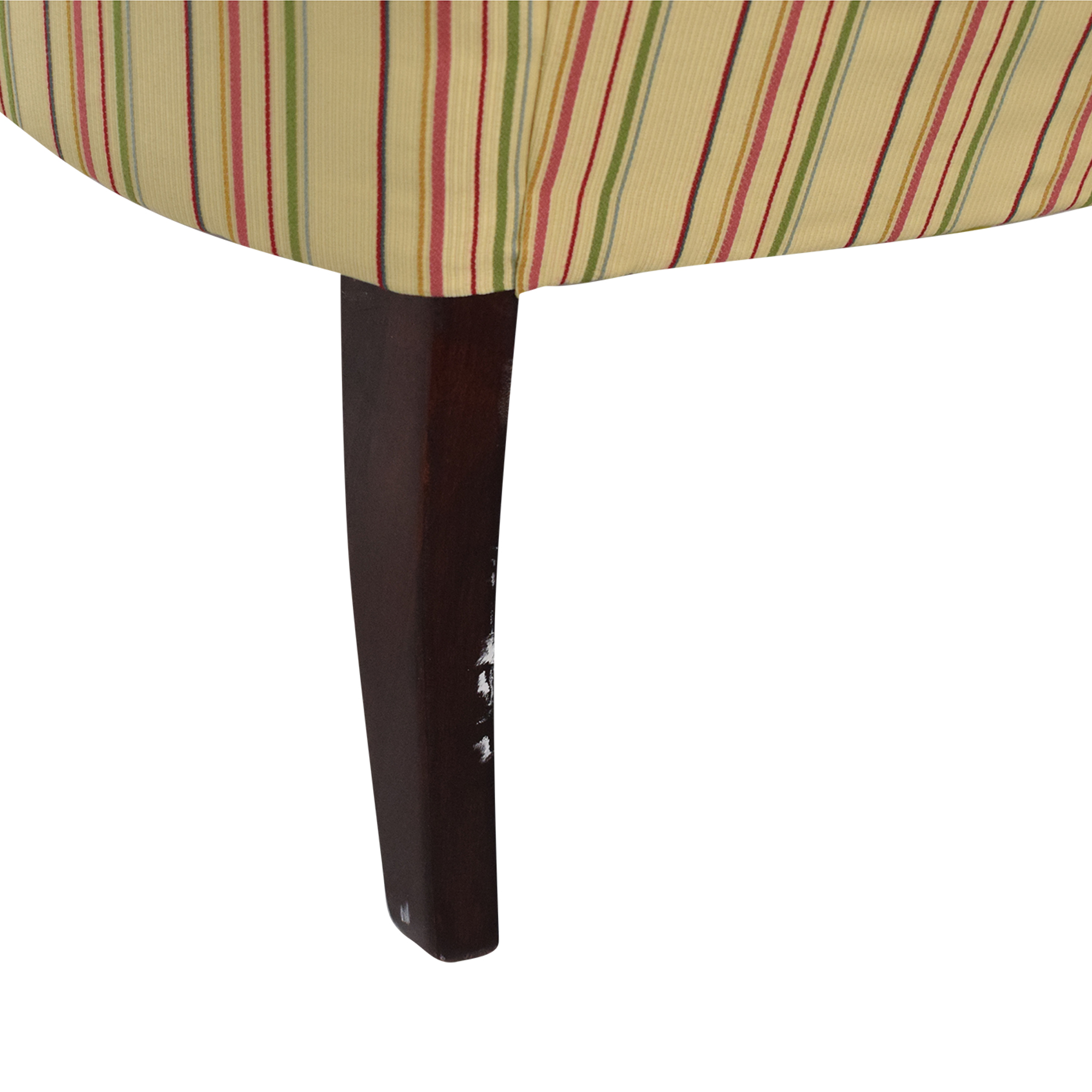 shop Domain Home Striped Accent Chair Domain Home Chairs