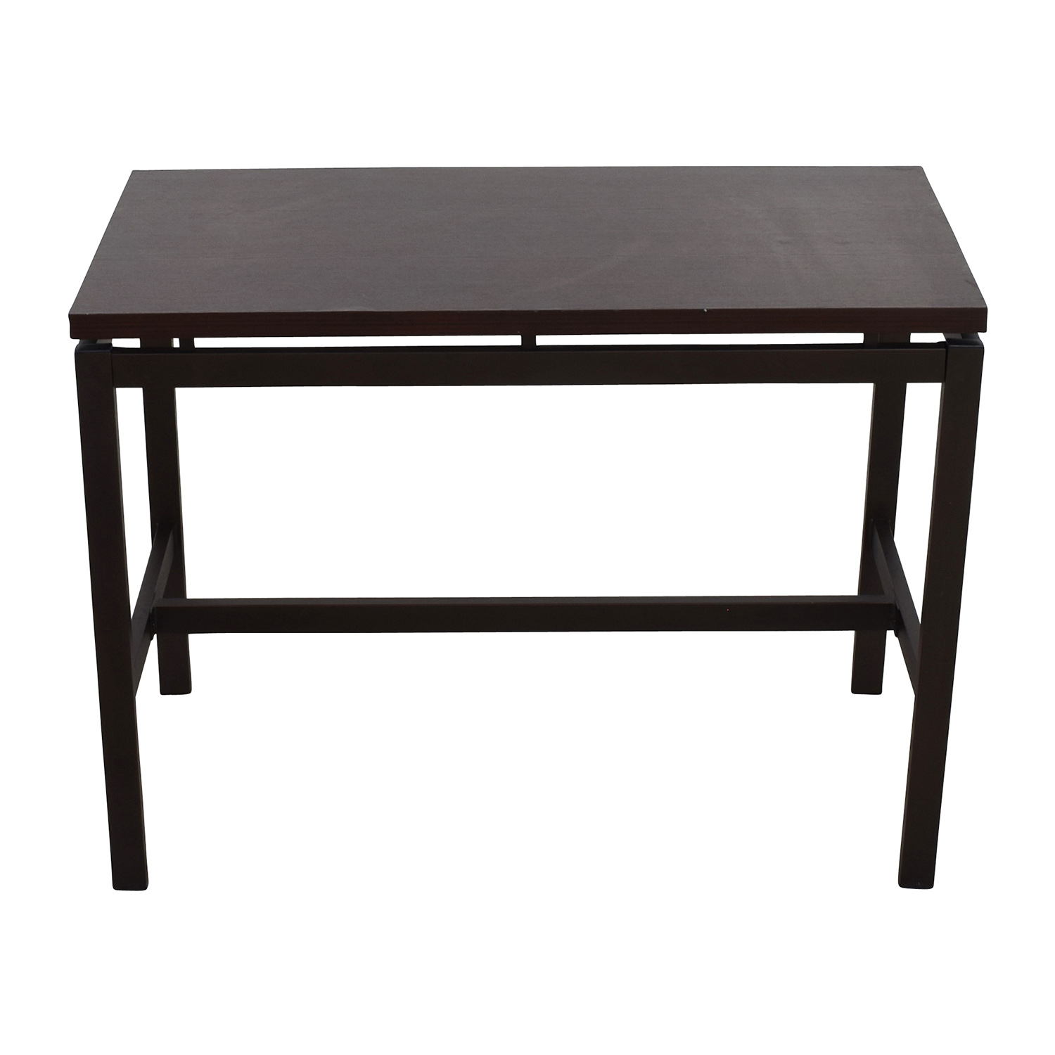 West Elm West Elm Bar and High Table Dark Brown