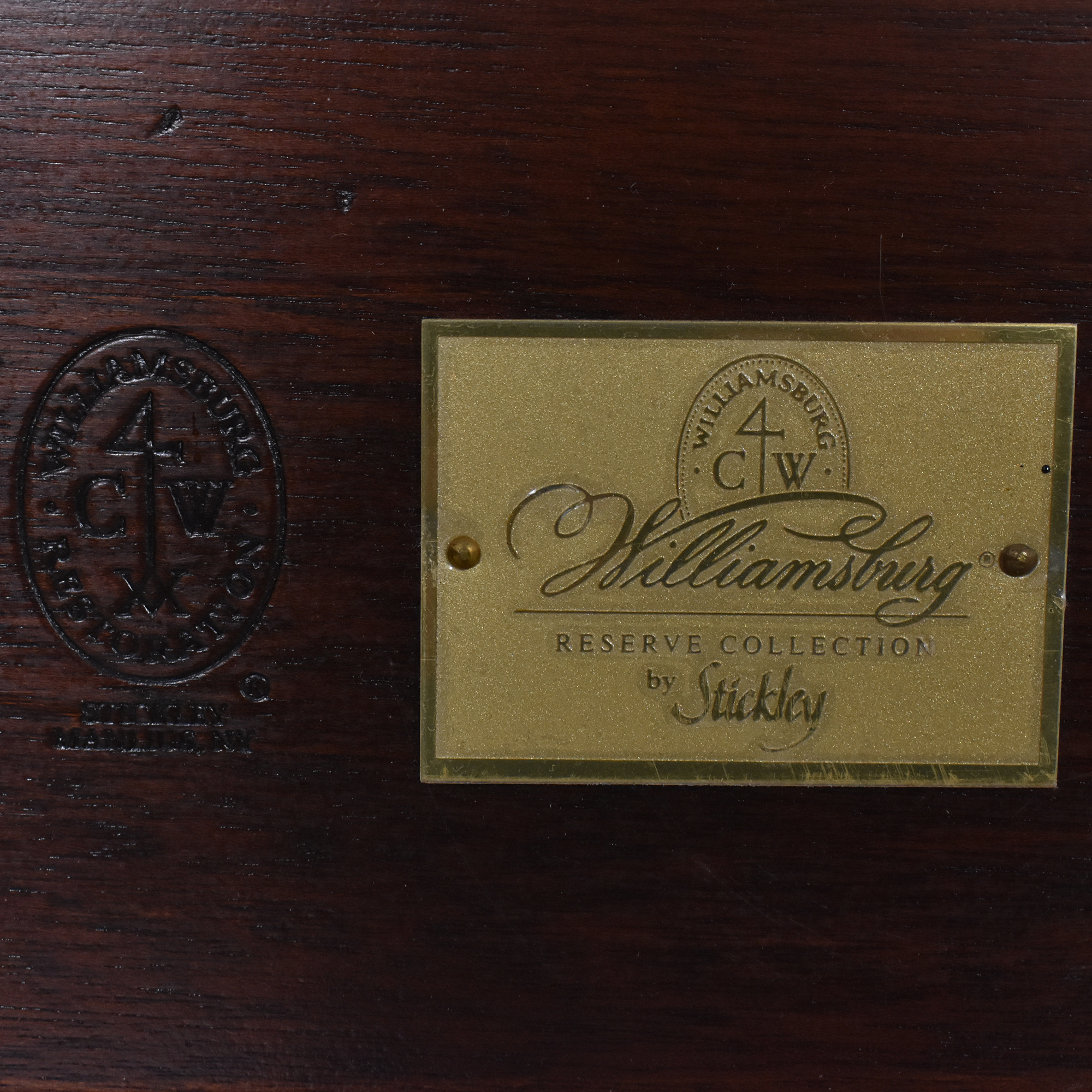 Stickley Colonial Williamsburg King Size Poster Bed sale