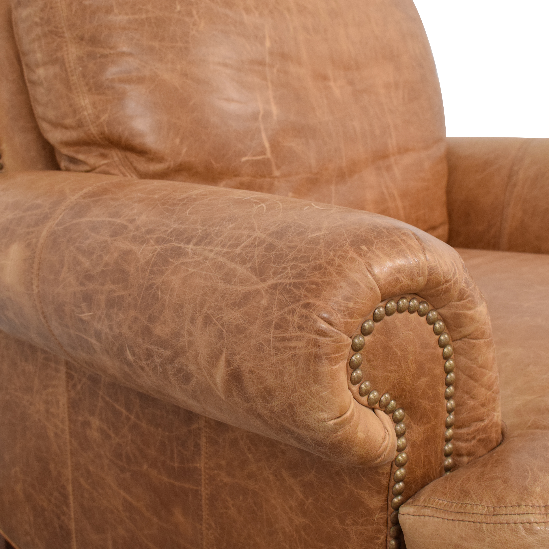 Ethan Allen Ethan Allen Lounge Chair and Ottoman second hand