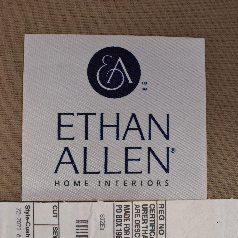 Ethan Allen Ethan Allen Lounge Chair and Ottoman ct