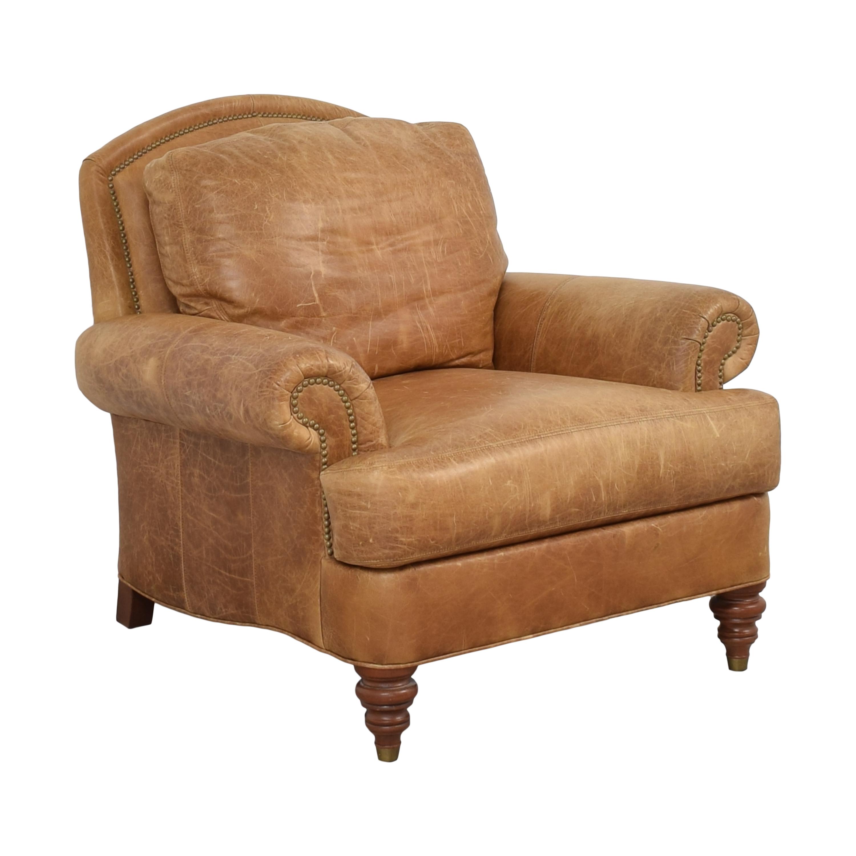 Ethan Allen Ethan Allen Lounge Chair and Ottoman