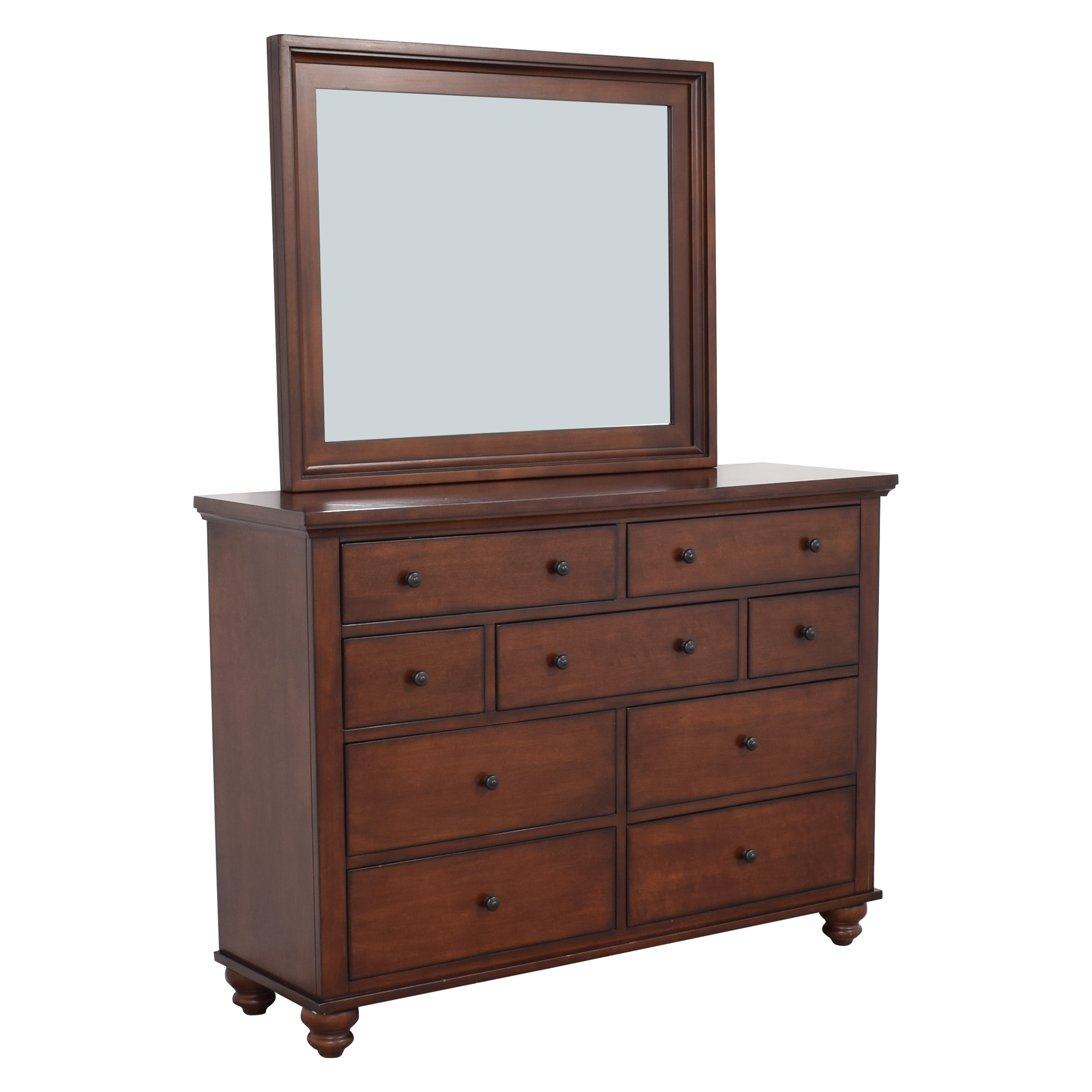 Aspen Home Cambridge Dresser with Mirror aspenhome