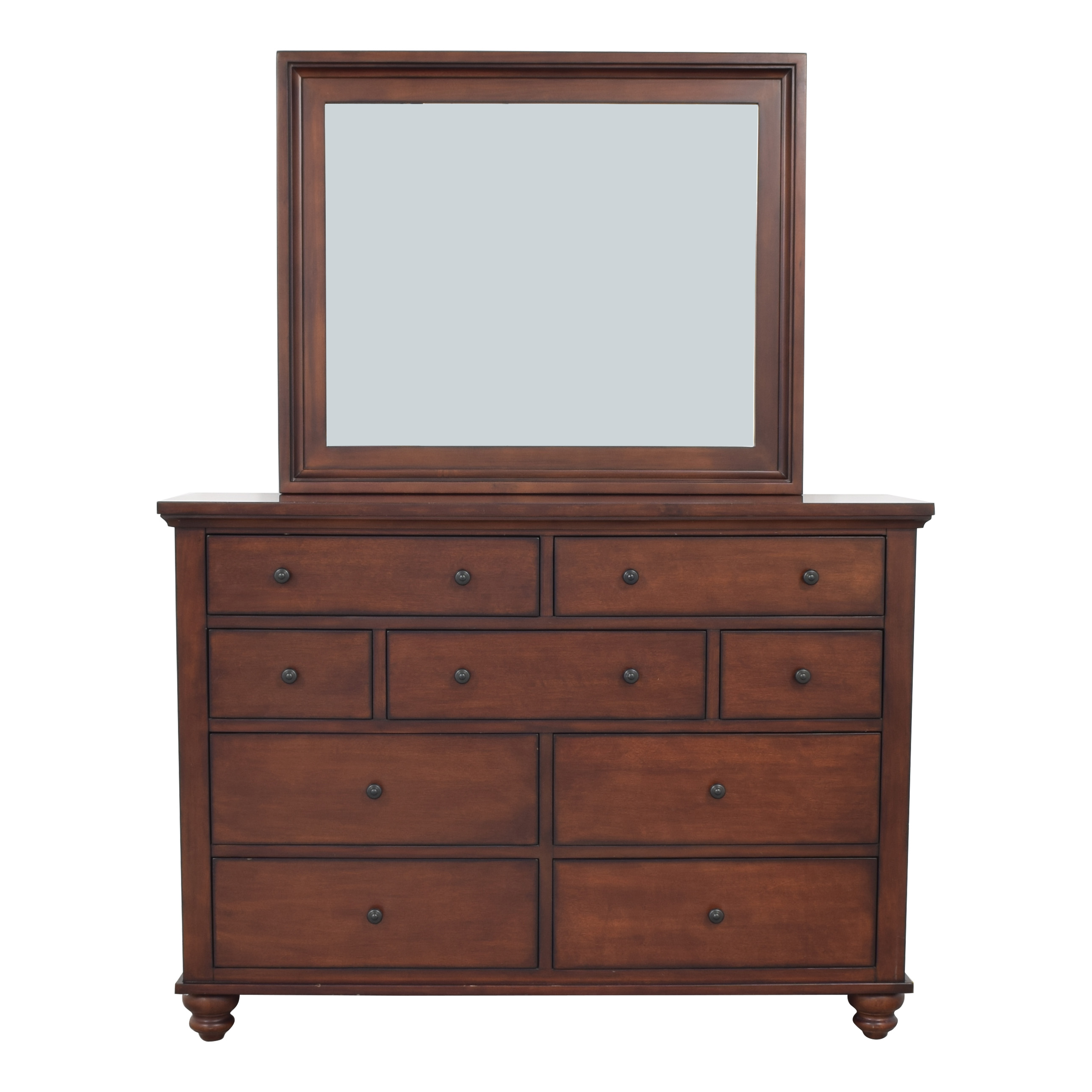aspenhome Aspen Home Cambridge Dresser with Mirror for sale