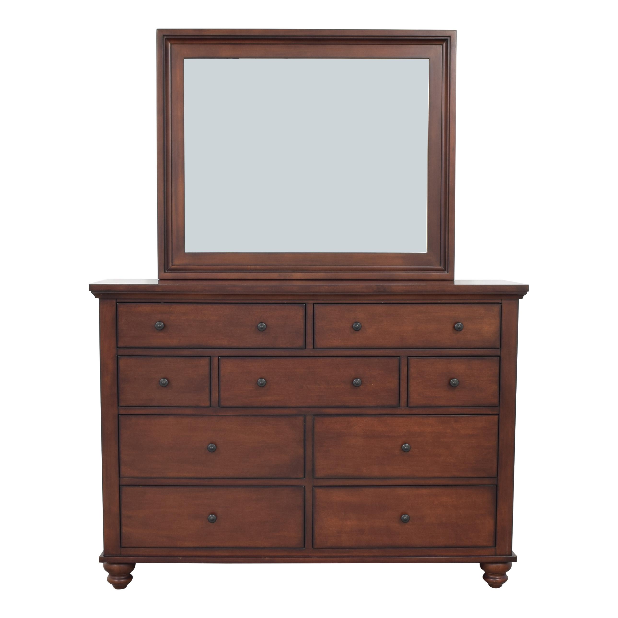 buy Aspen Home Cambridge Dresser with Mirror aspenhome Dressers