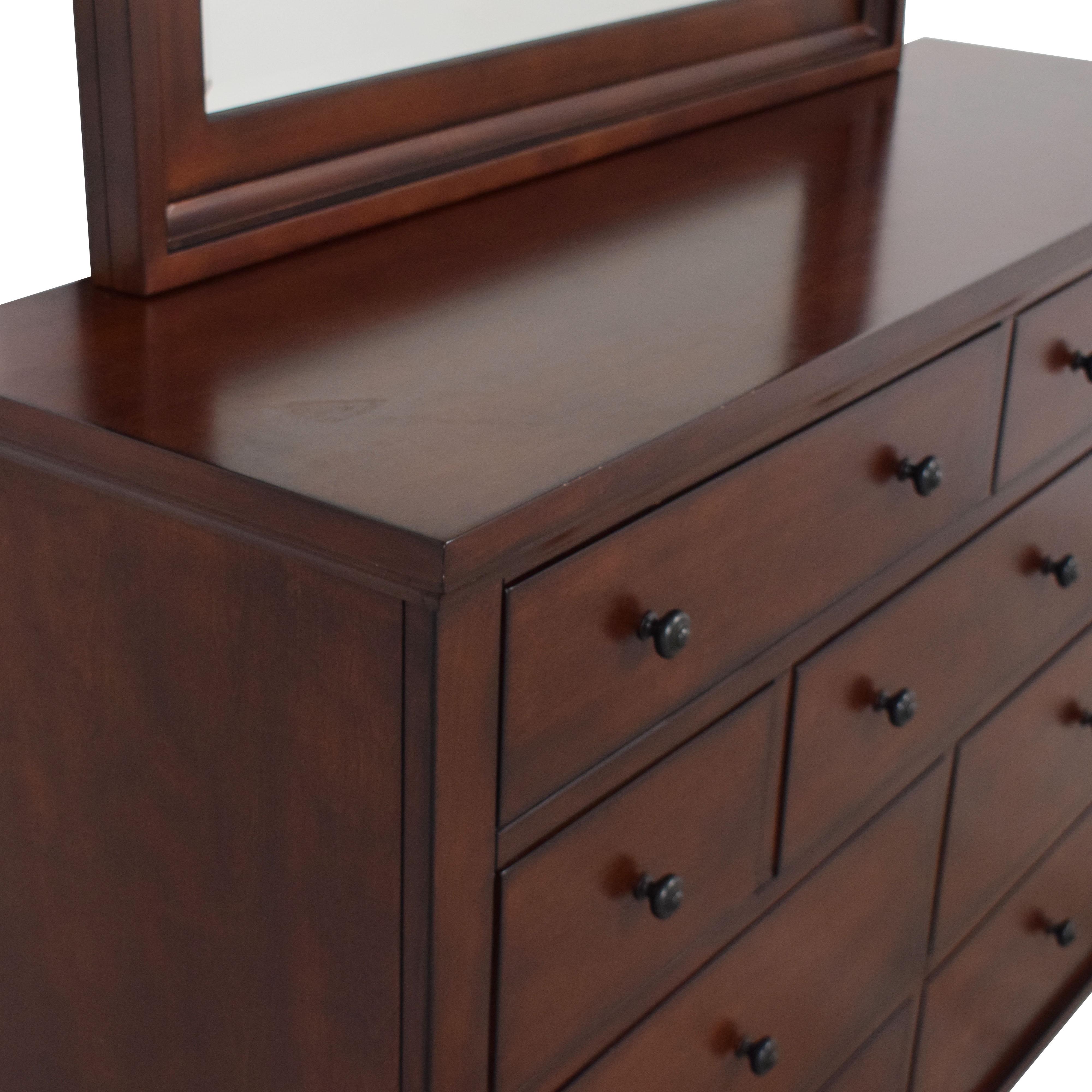 aspenhome Aspen Home Cambridge Dresser with Mirror discount