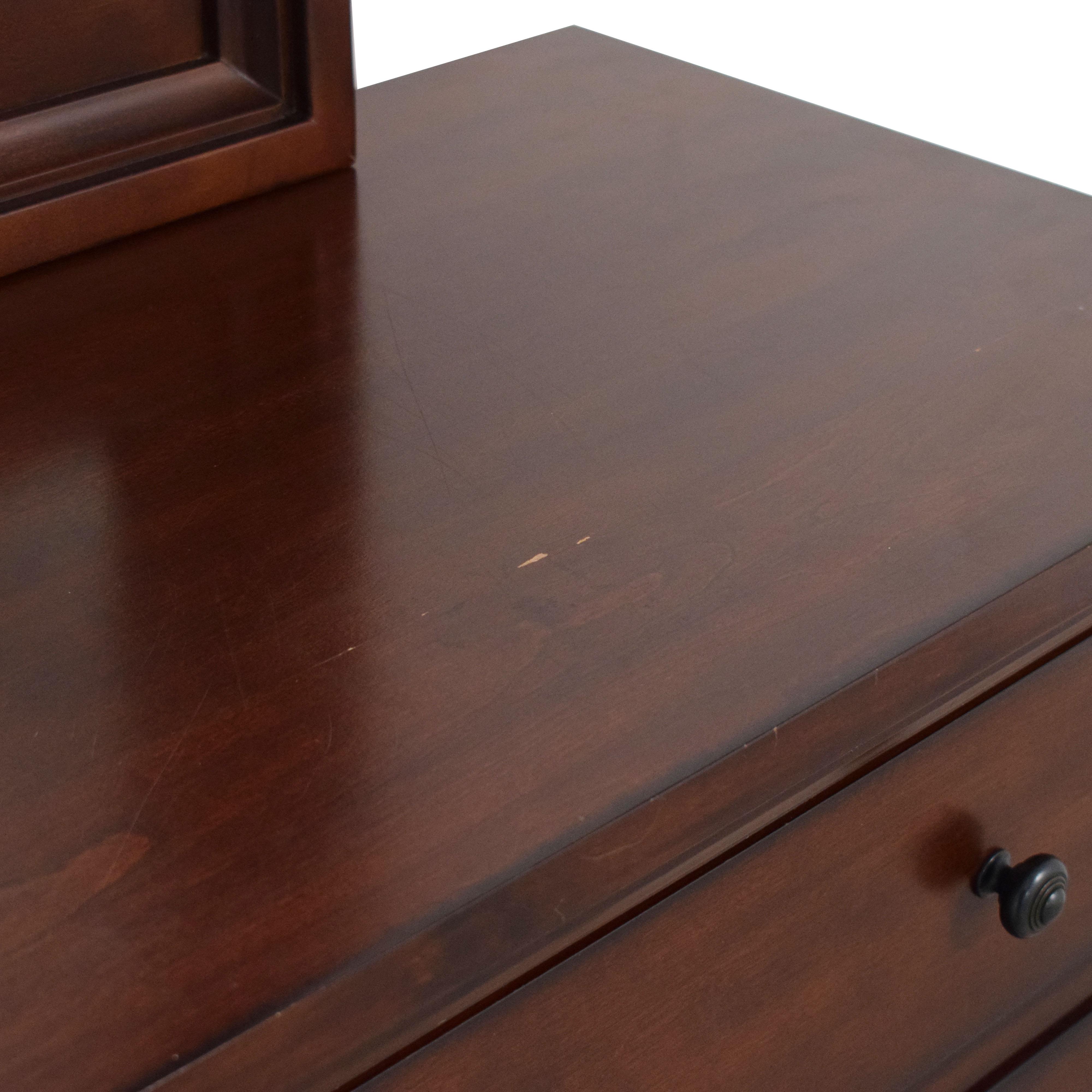 shop Aspen Home Cambridge Dresser with Mirror aspenhome Dressers
