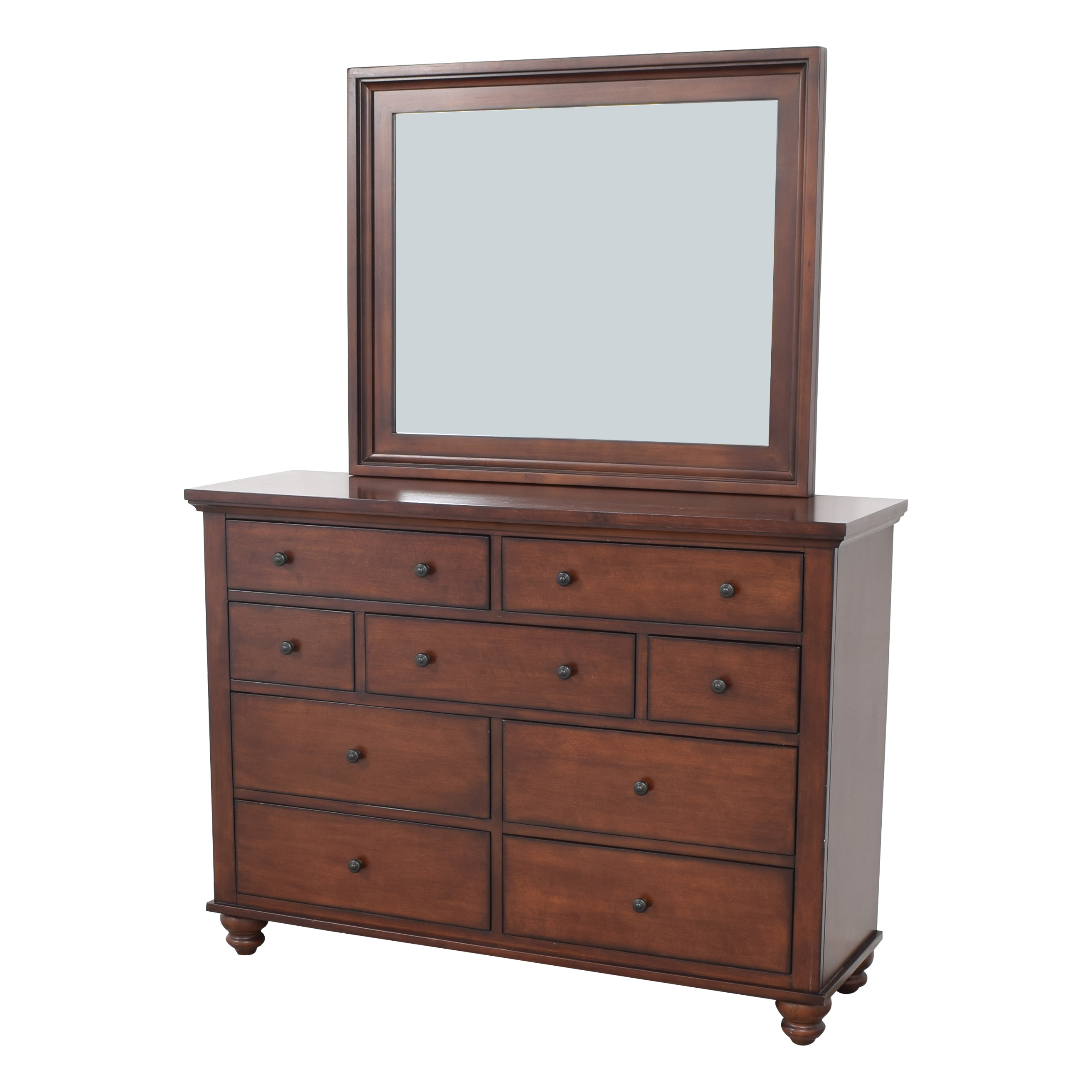 aspenhome Aspen Home Cambridge Dresser with Mirror second hand