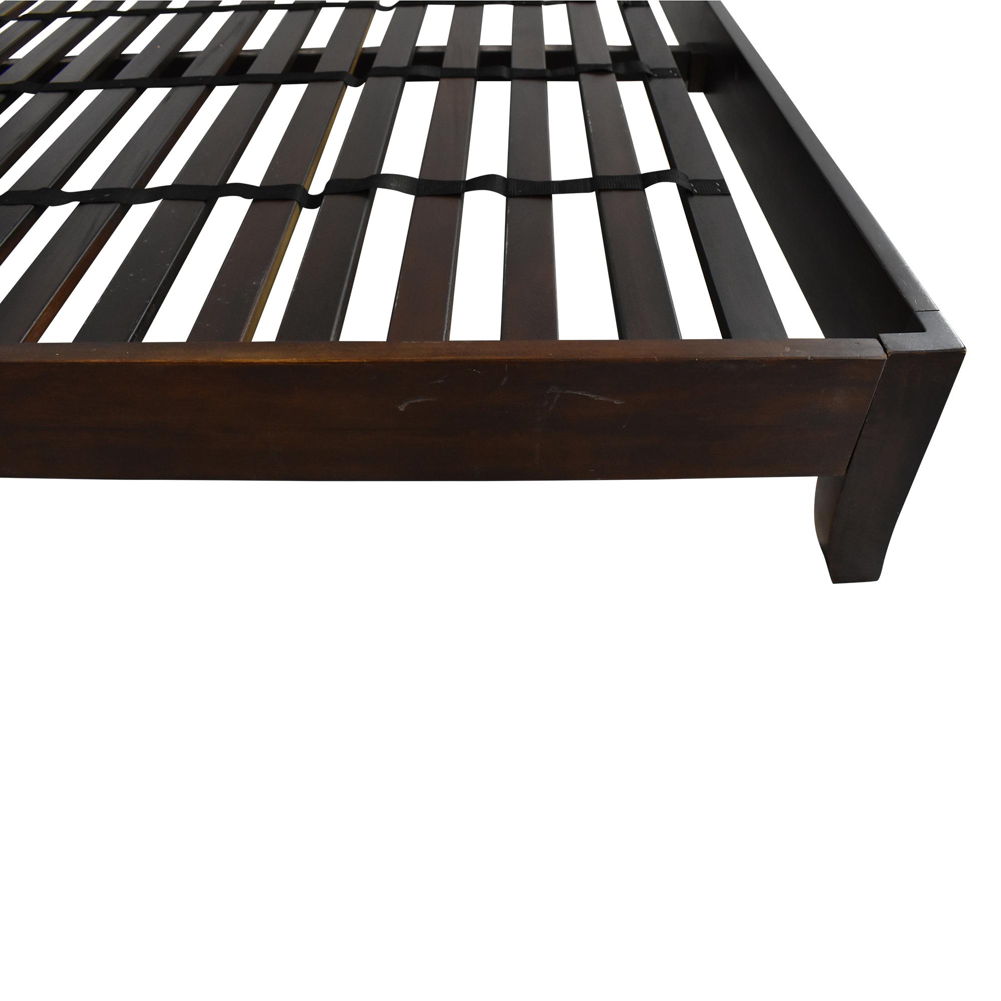 Crate & Barrel Crate & Barrel Dawson King Sleigh Bed Bed Frames