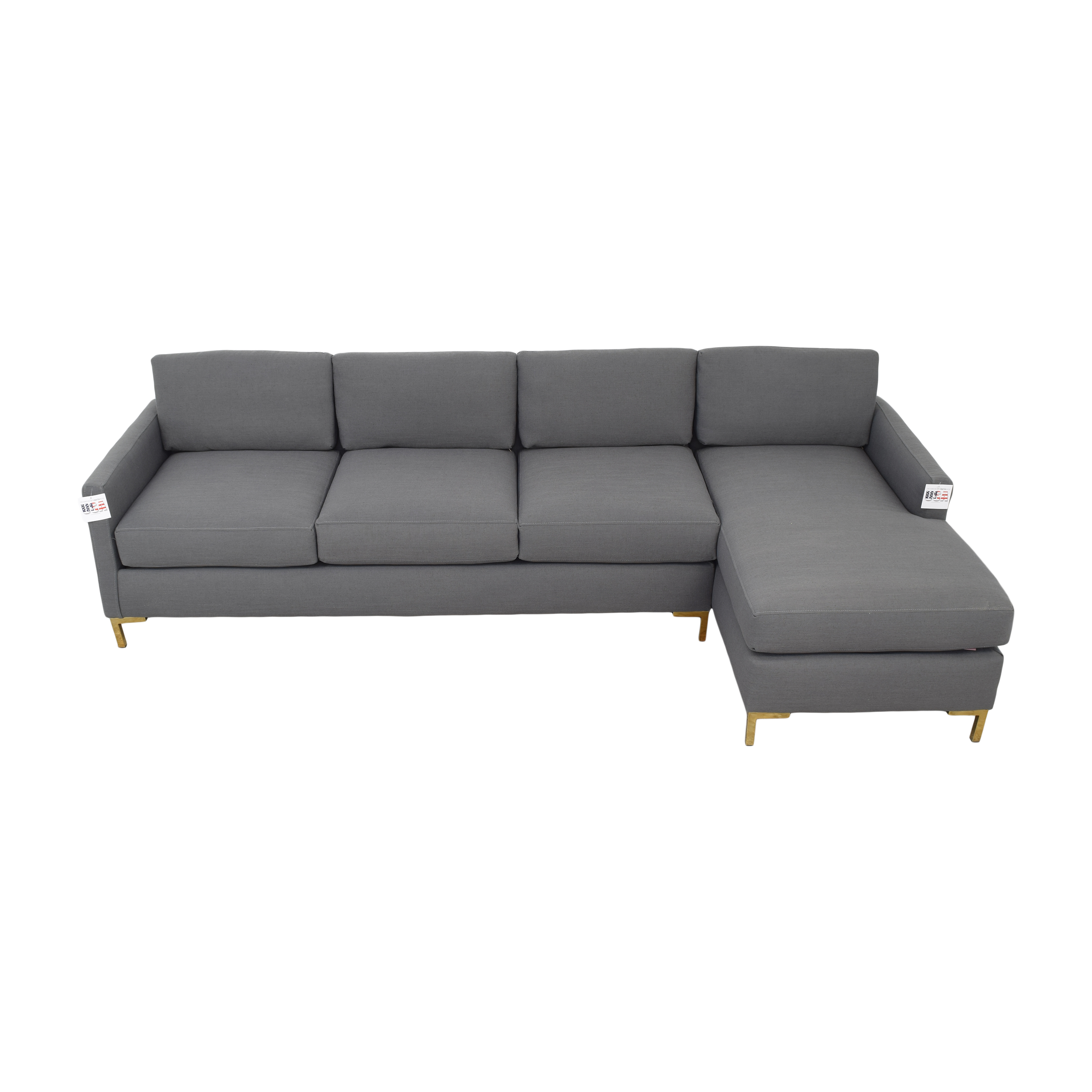 shop The Inside Modern Sectional-Right Facing The Inside Sectionals