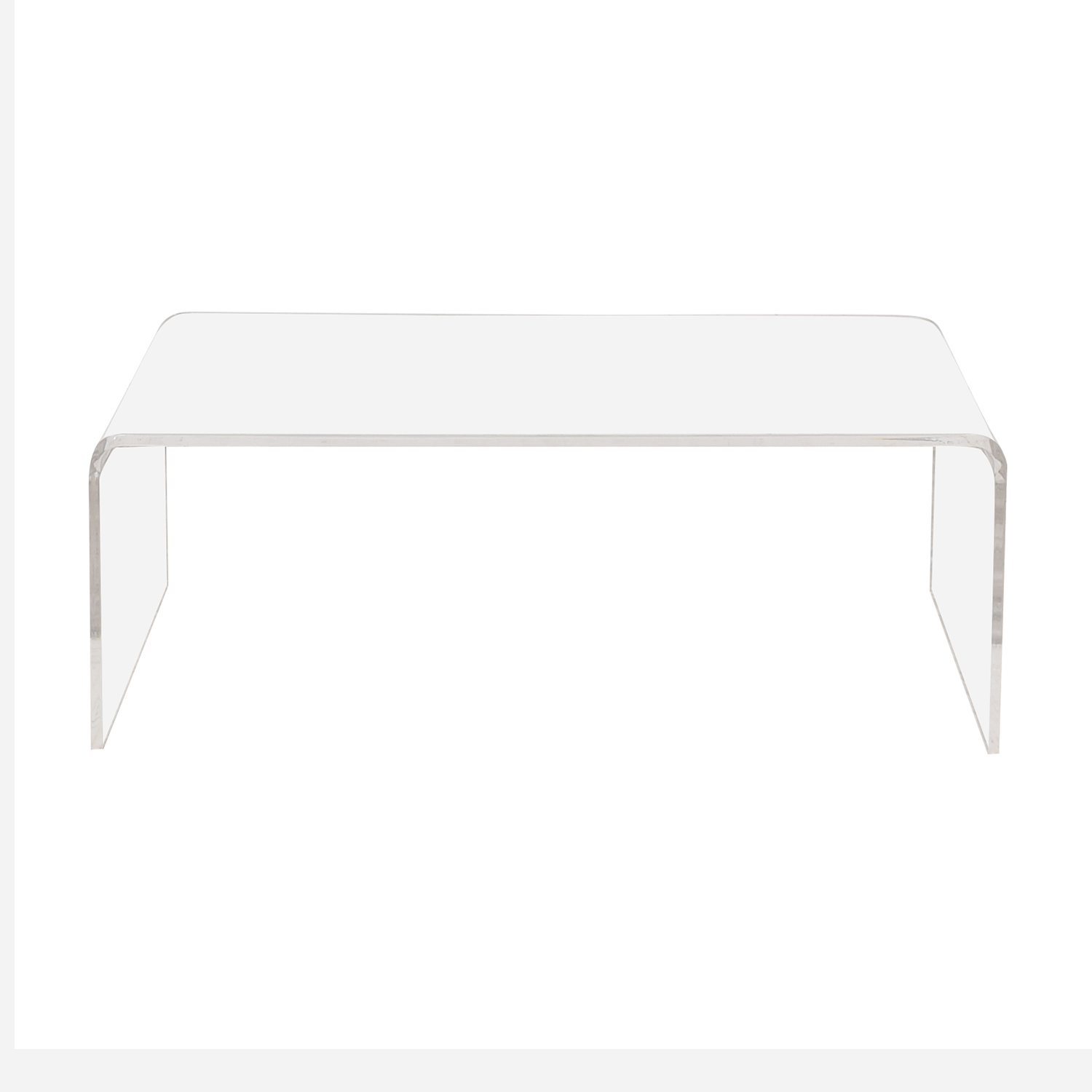 CB2 CB2 Peekaboo Acrylic Coffee Table coupon