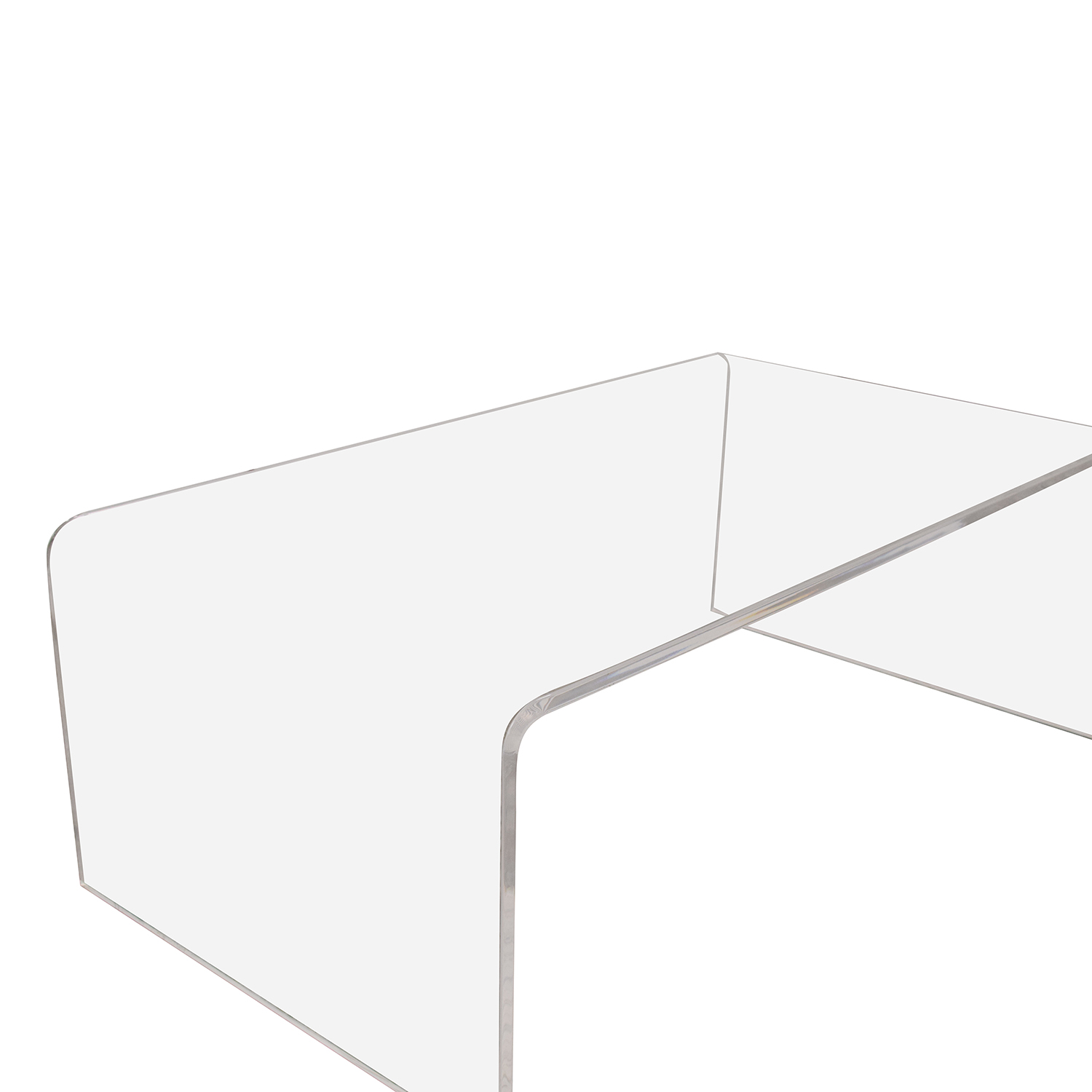 CB2 CB2 Peekaboo Acrylic Coffee Table price