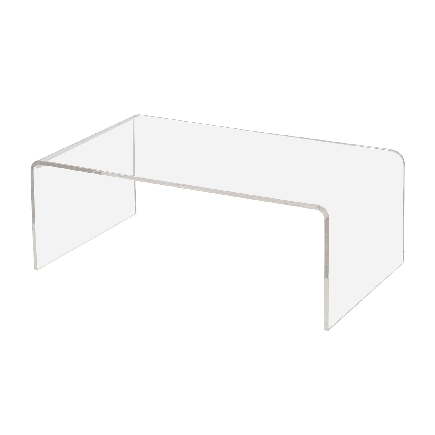 CB2 Peekaboo Acrylic Coffee Table / Coffee Tables