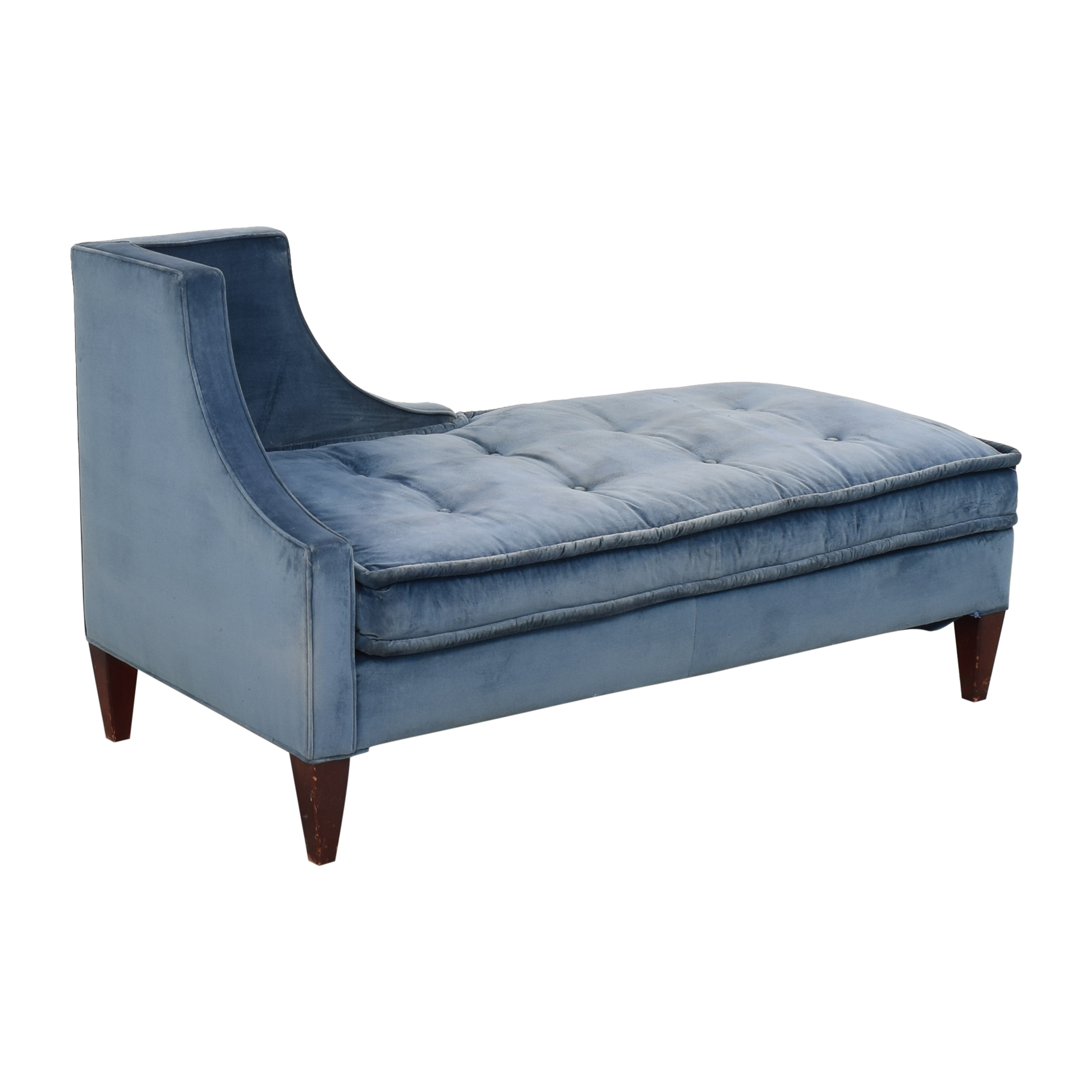 Charles Stewart Company Tufted Chaise / Sofas