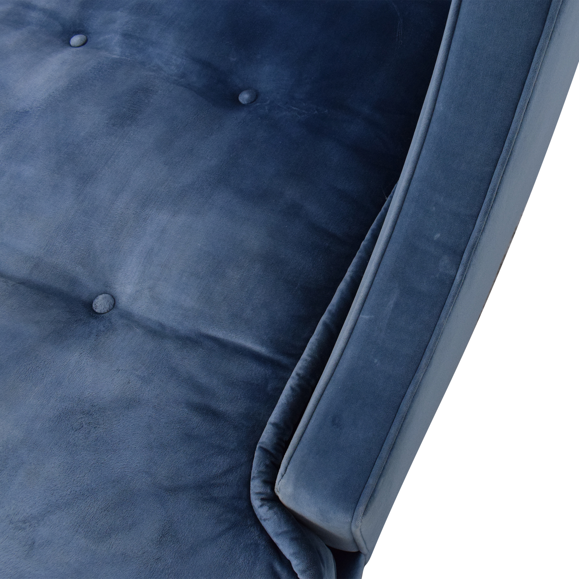 shop Charles Stewart Company Tufted Chaise Charles Stewart Company