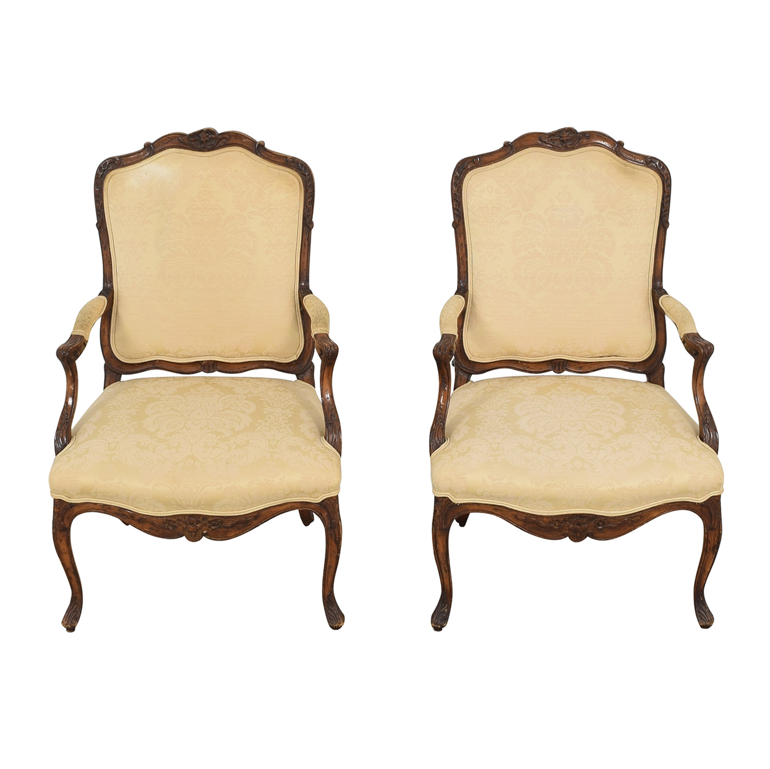 Rococo Style Dining Chairs used