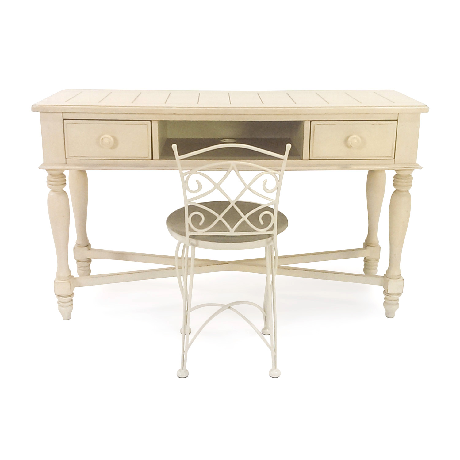 Cream Colored Vanity Set