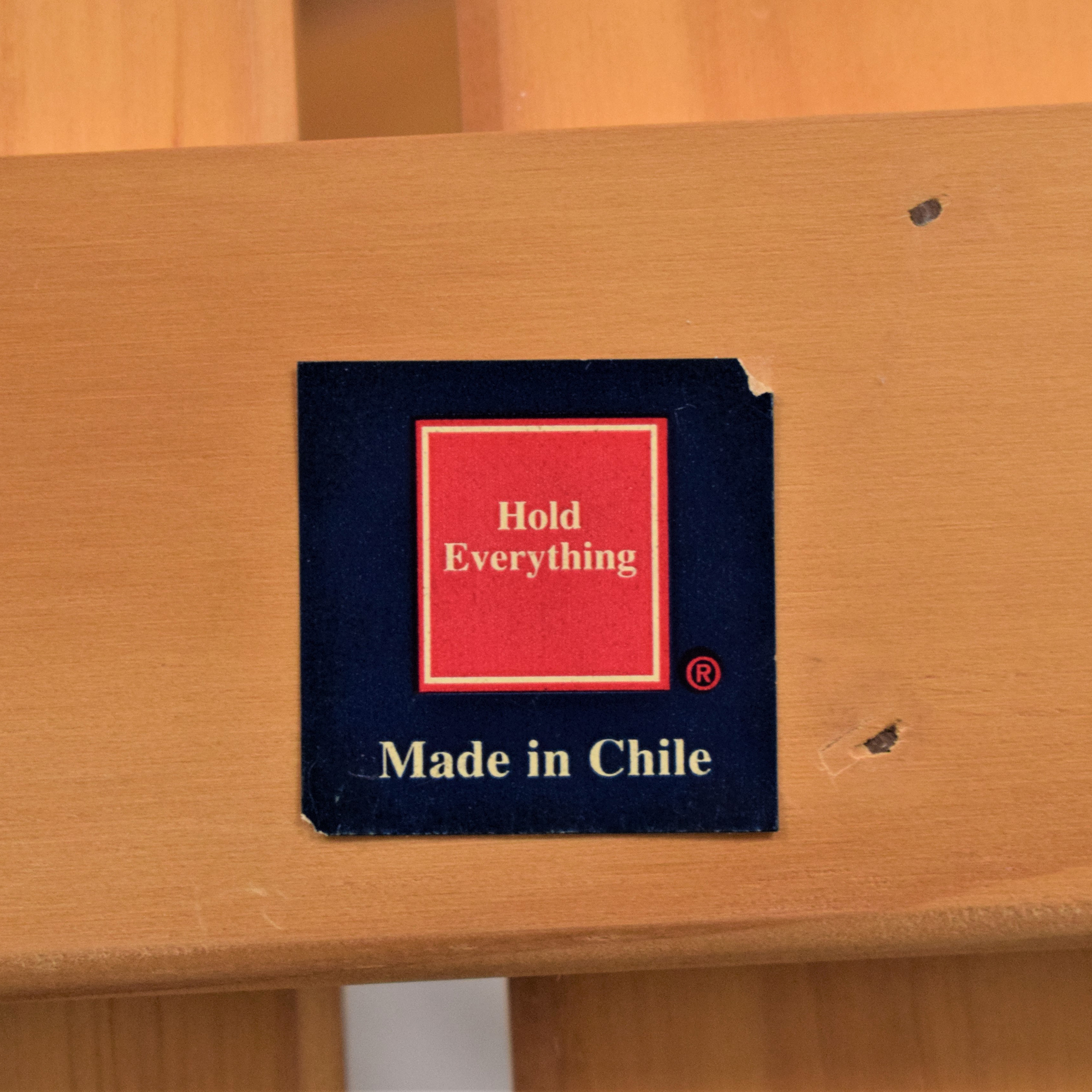 Hold Everything Hold Everything Three Tier Storage Shelf ma