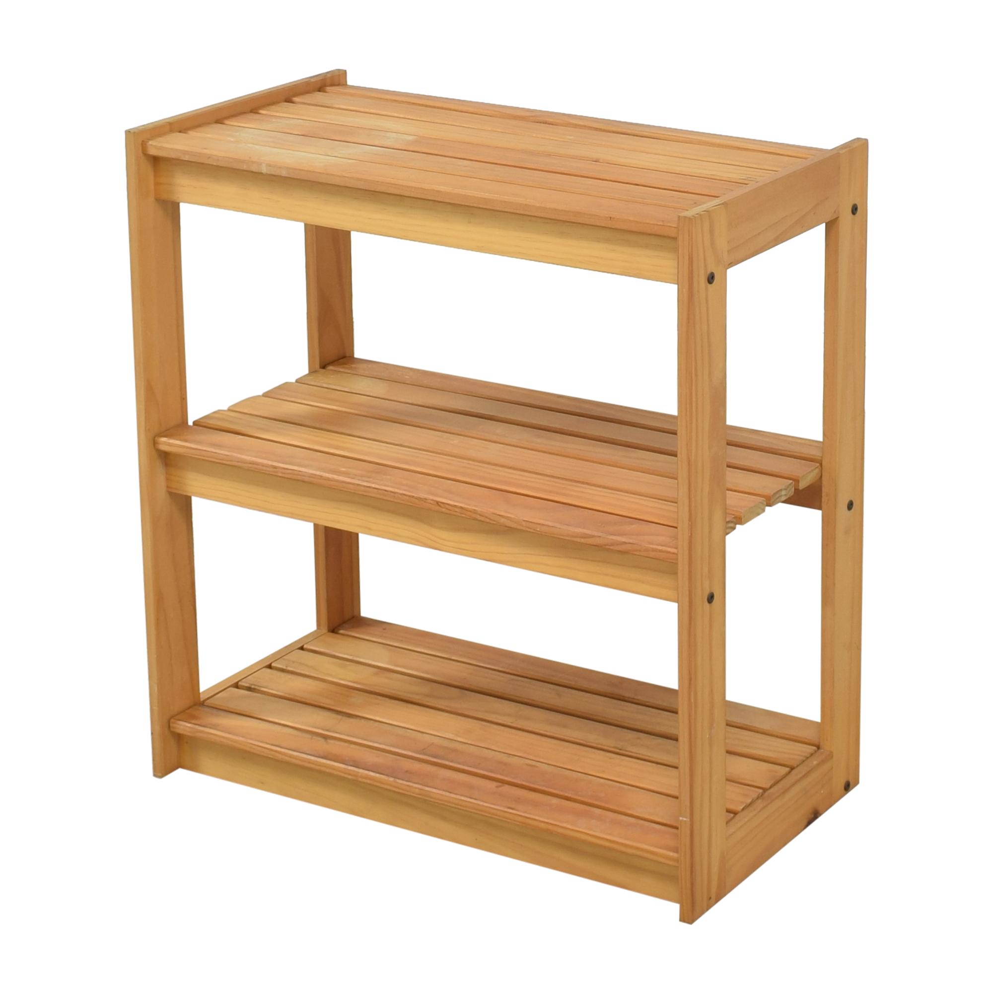 Hold Everything Hold Everything Three Tier Storage Shelf price