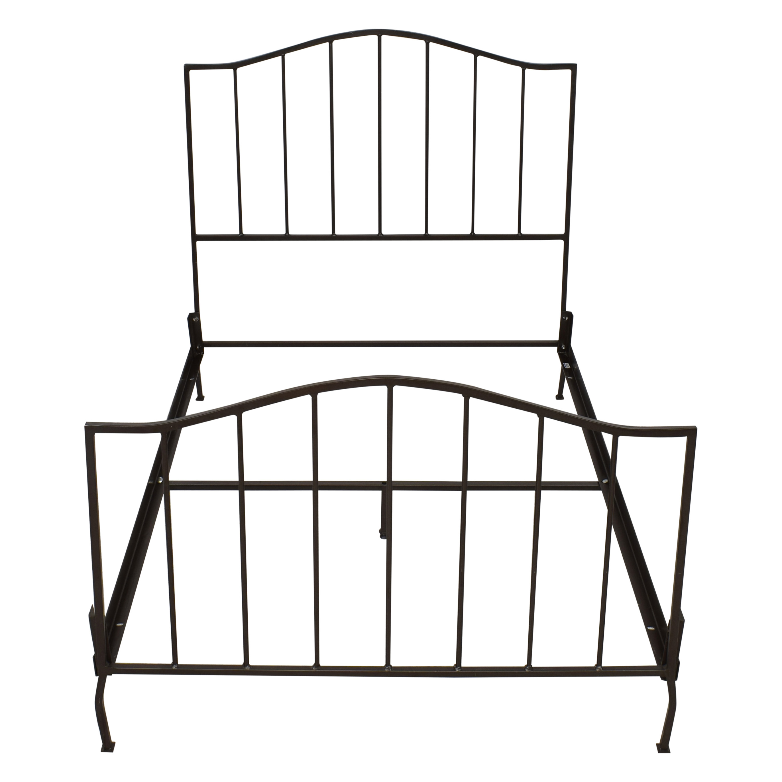 Crate & Barrel Crate &Barrel Full Metal Bed Frame nj