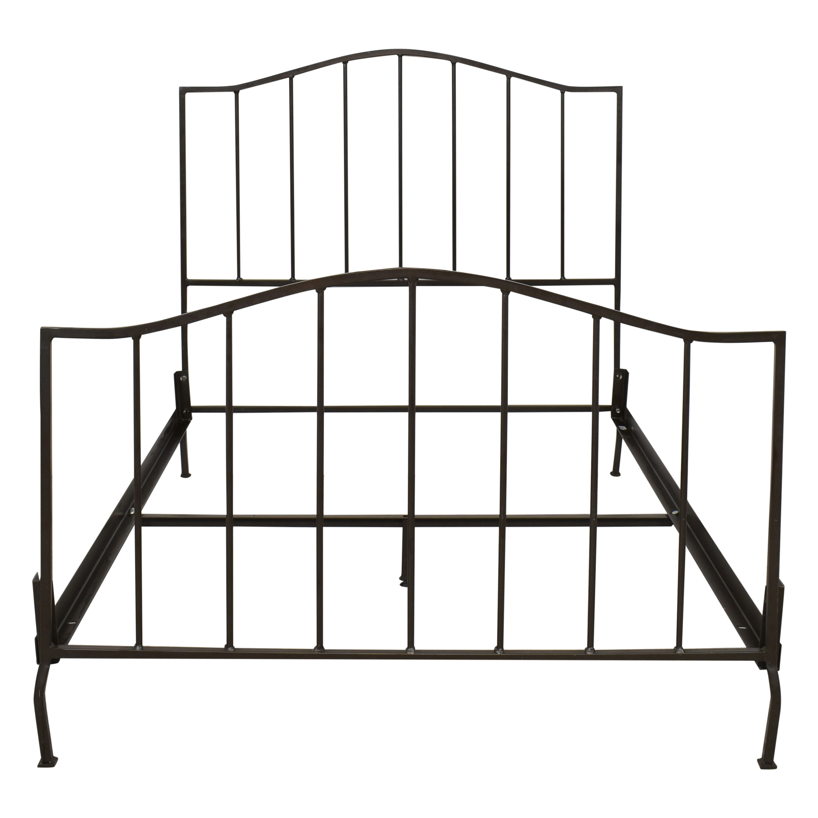 buy Crate & Barrel Full Metal Bed Frame Crate & Barrel Beds