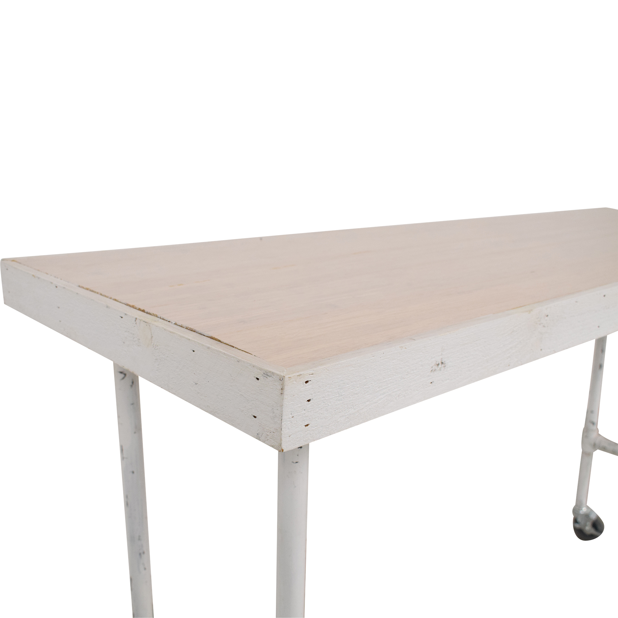 Work Table with Wheels used