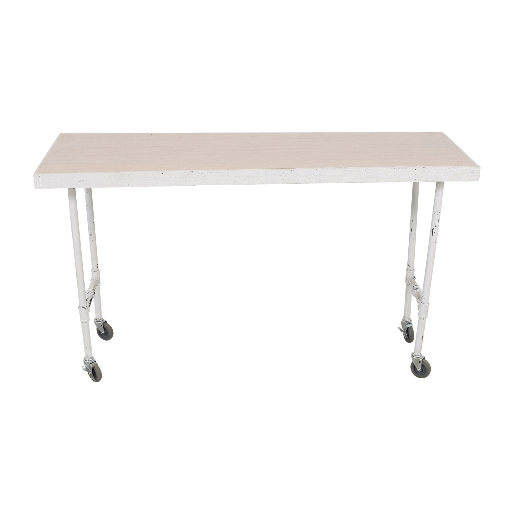 Work Table with Wheels pa
